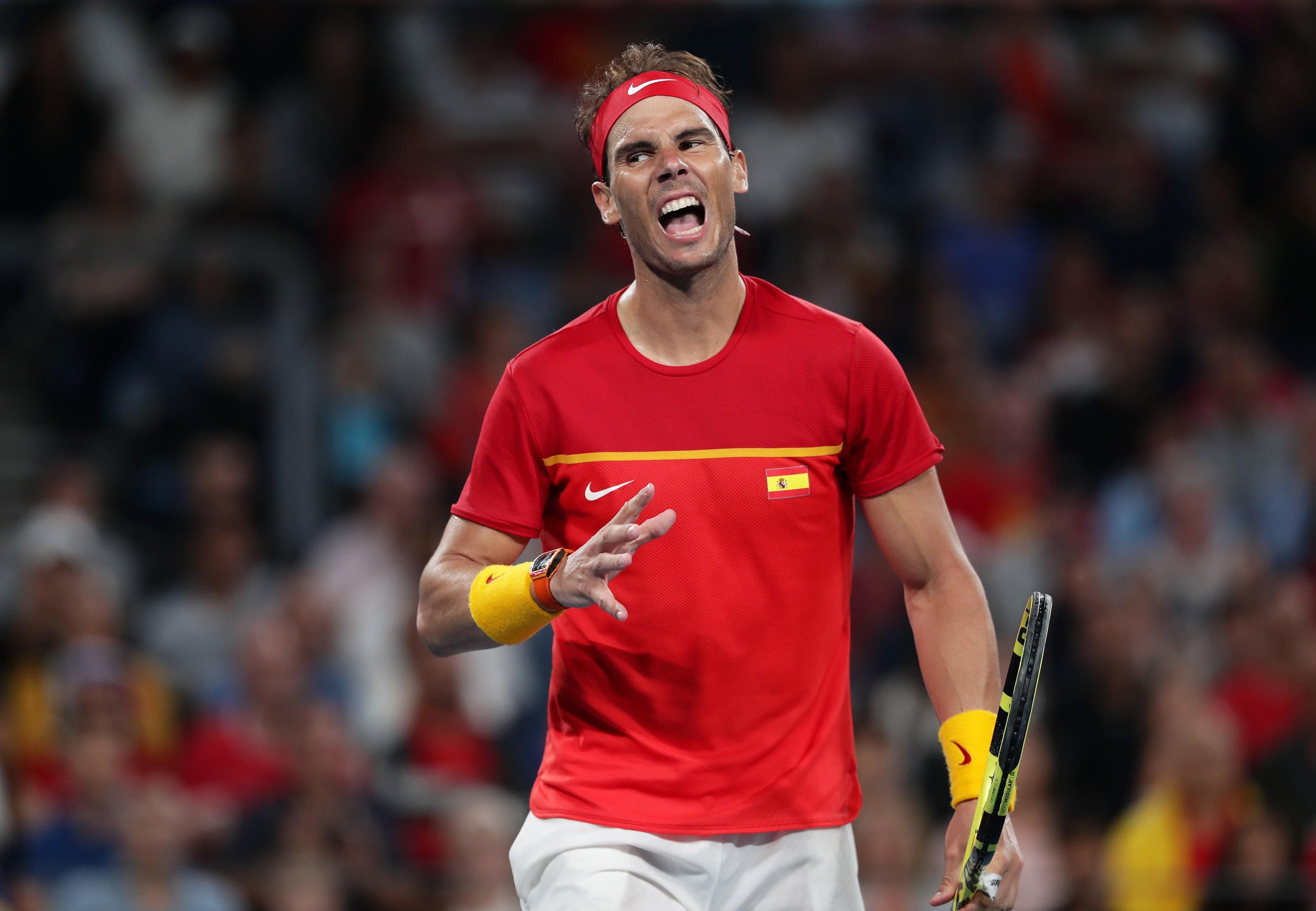 Rafael Nadal lost to Novak Djokovic