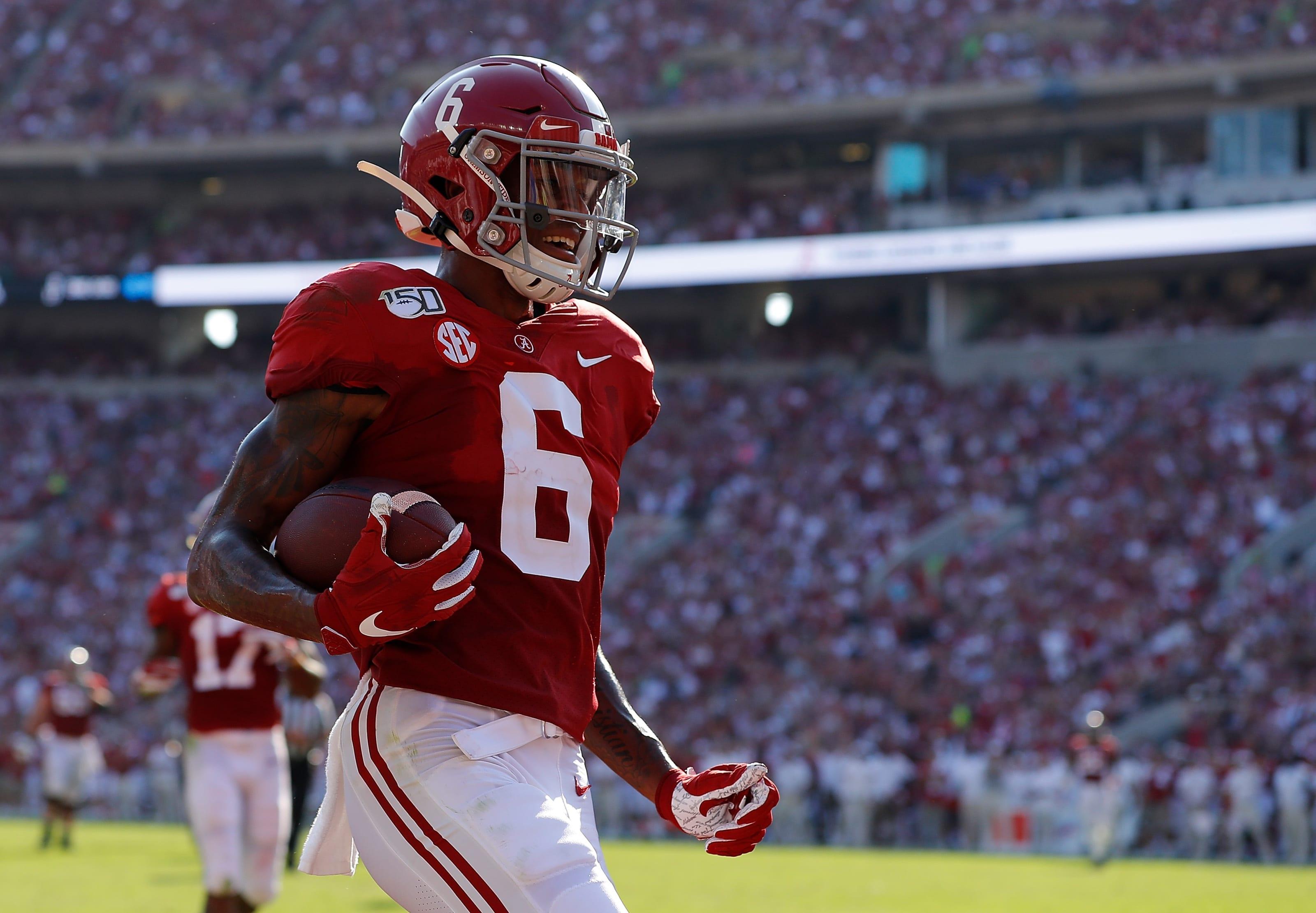 2021 NFL Draft prospect DeVonta Smith