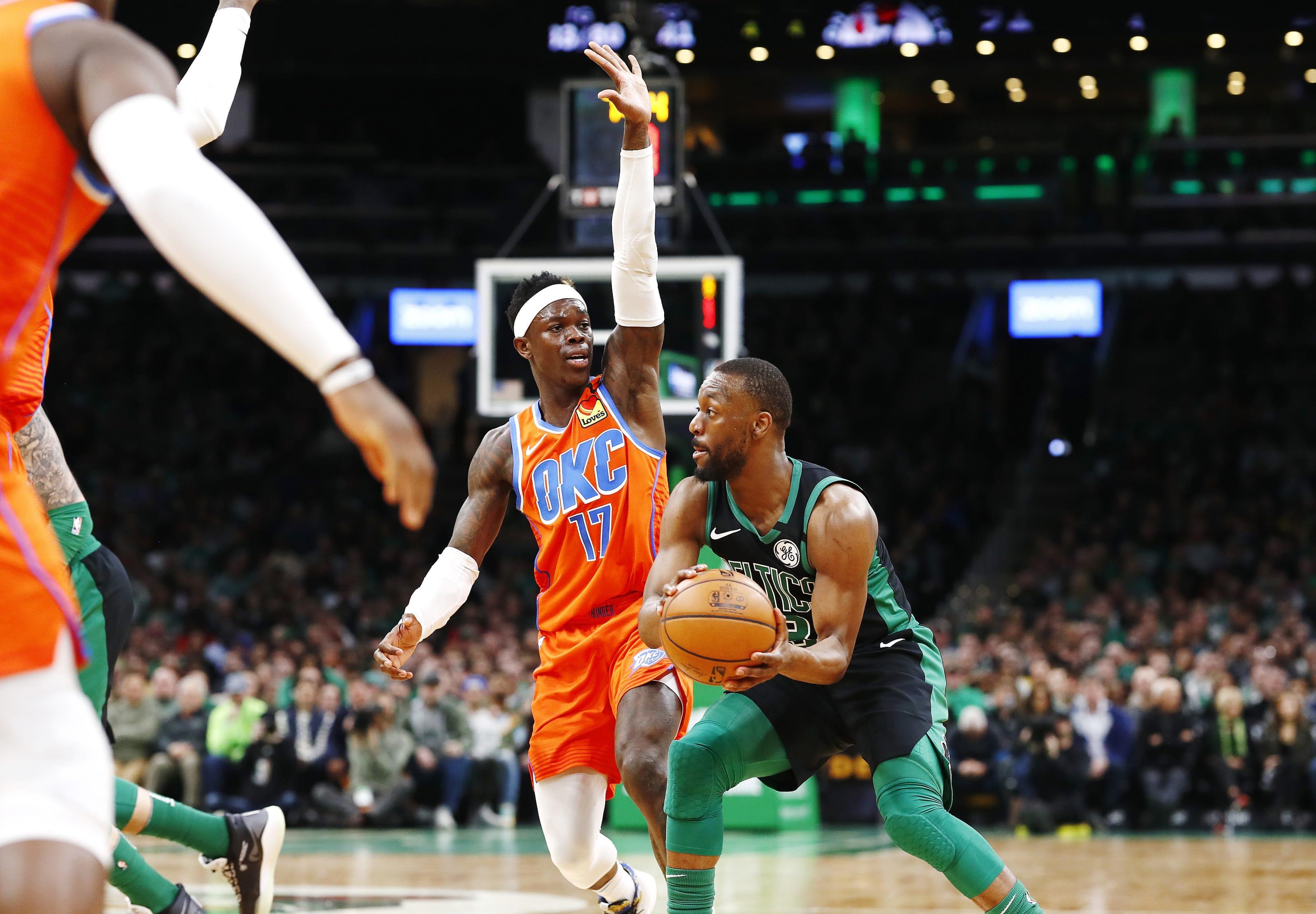 OKC Thunder: Dennis Schroder, Boston Celtics: Kemba Walker