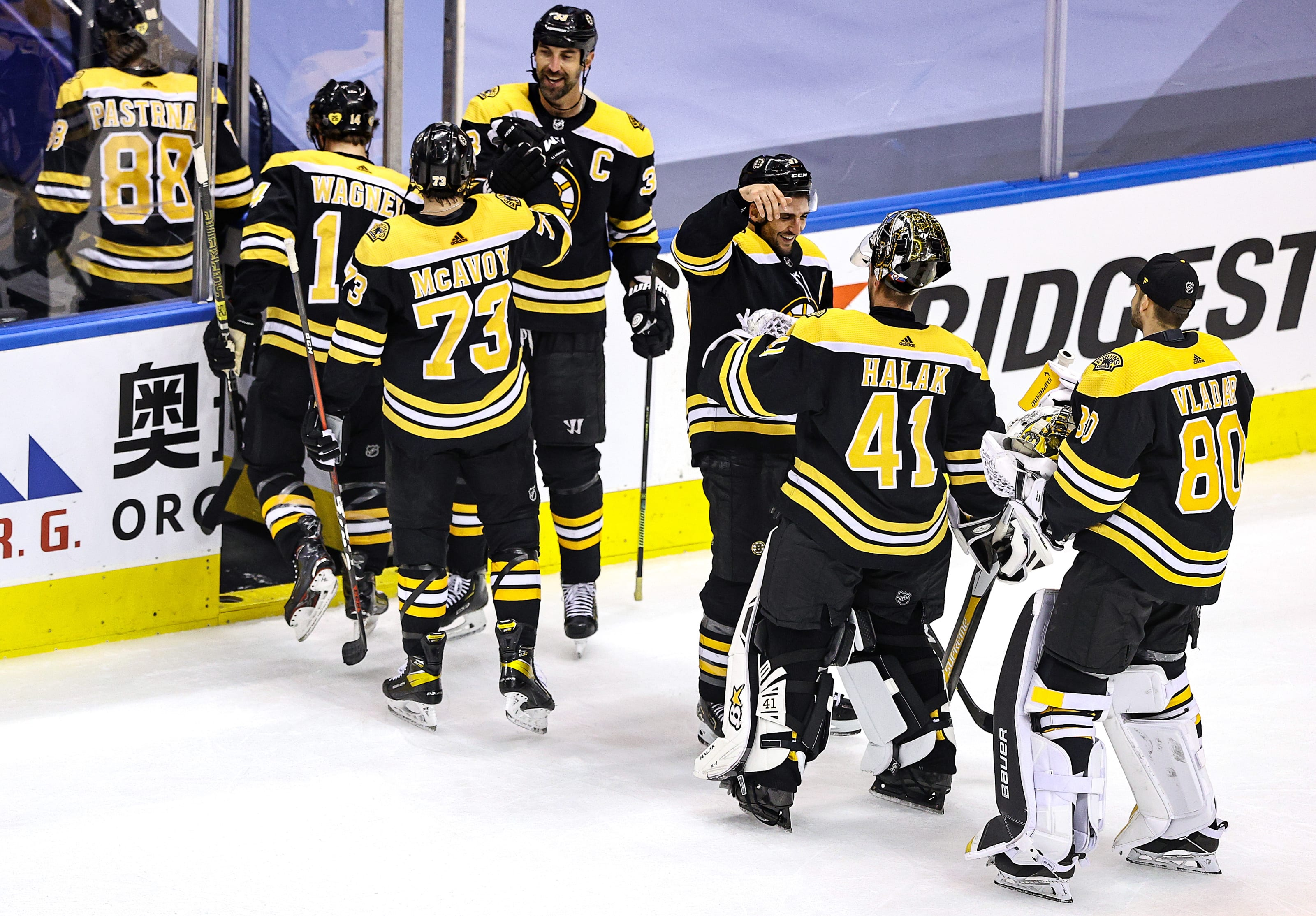 Boston Bruins (Photo by Elsa/Getty Images)