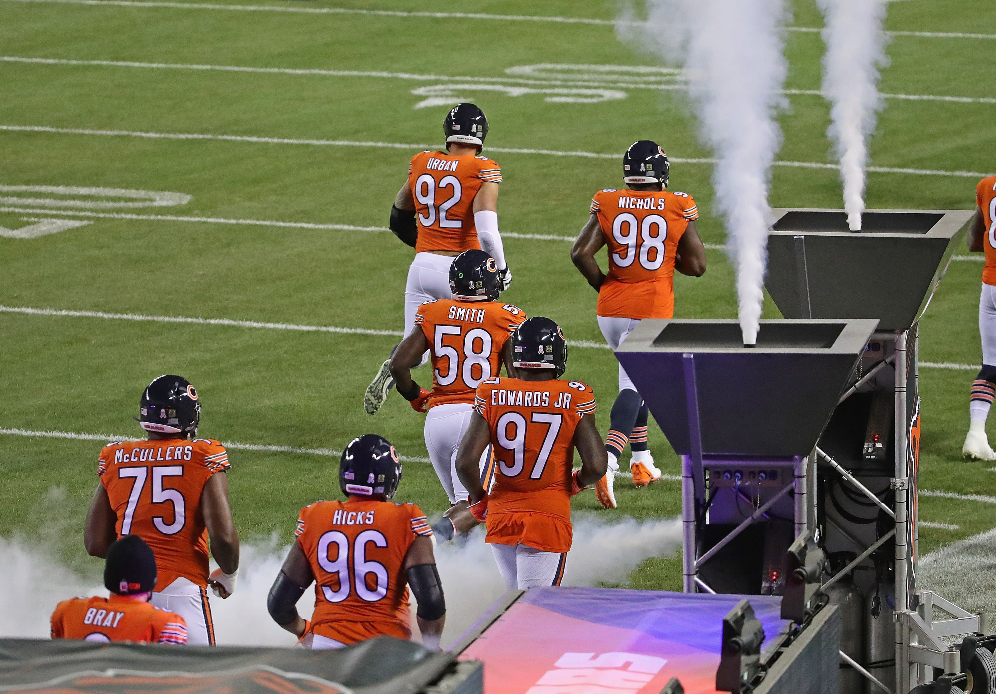 Chicago Bears, 2021 NFL Free Agency