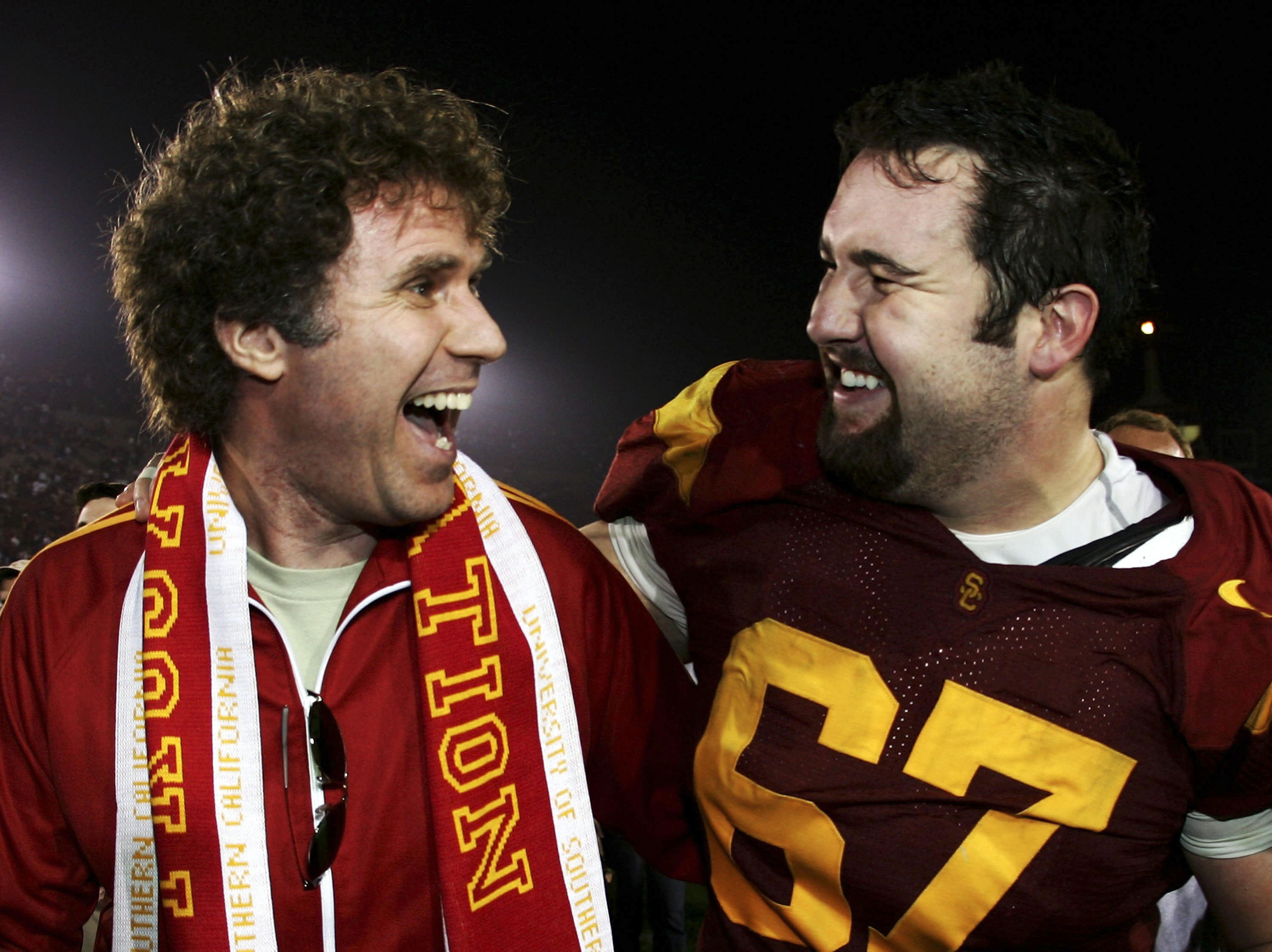 Will Ferrell - USC celebrity college football fans