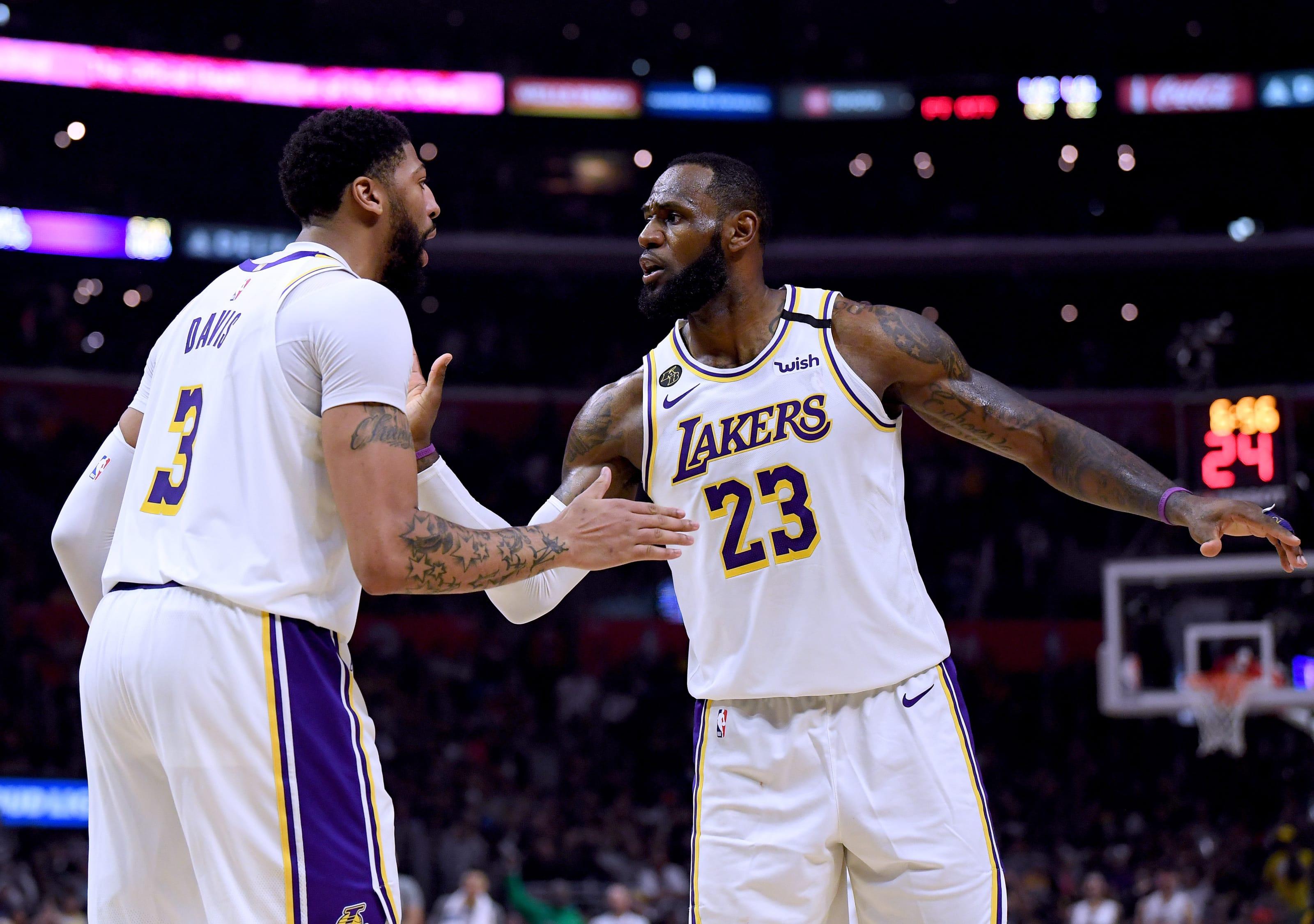 LeBron, Giannis, NBA