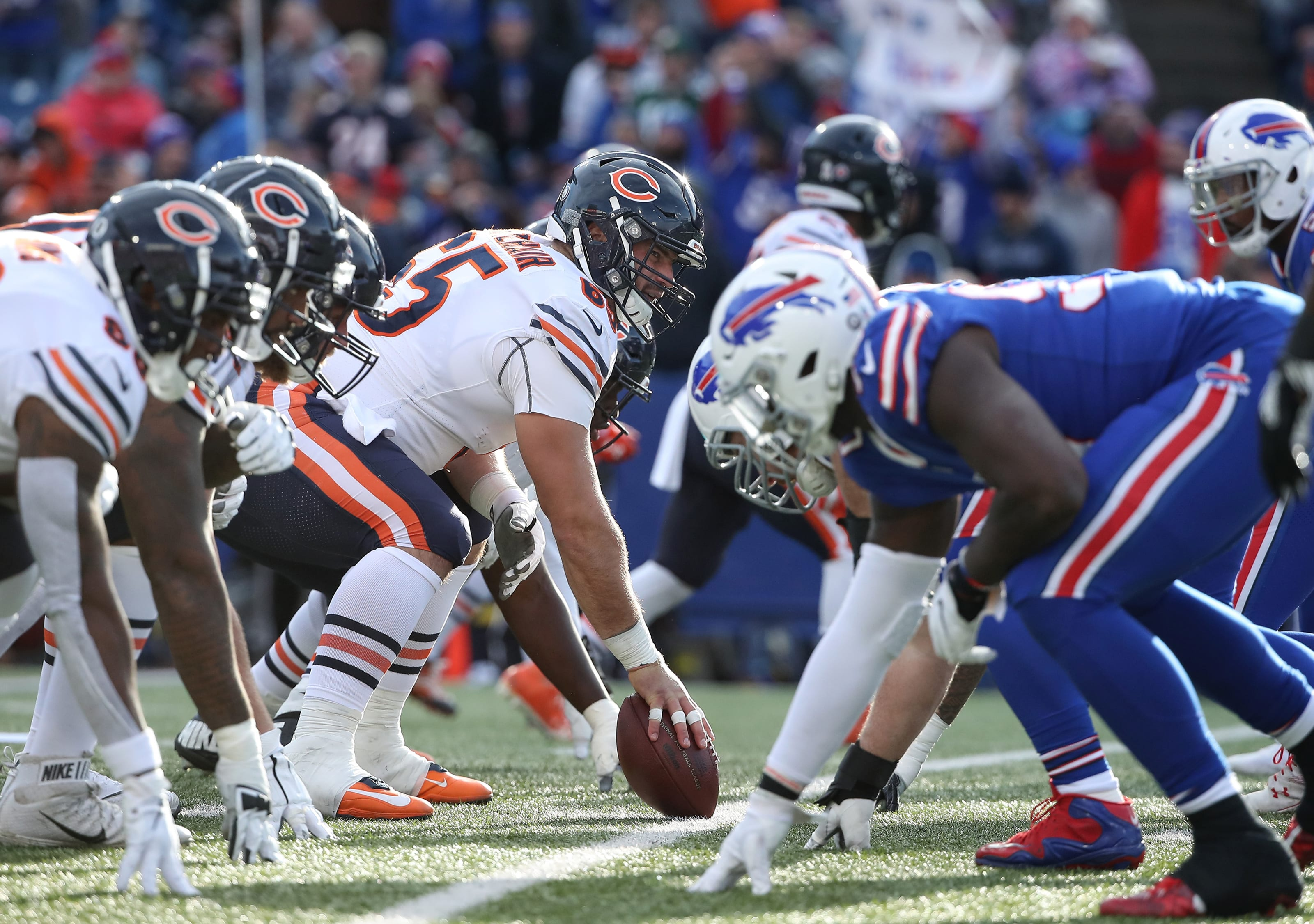 Chicago Bears should look at these free agents from the Buffalo Bills