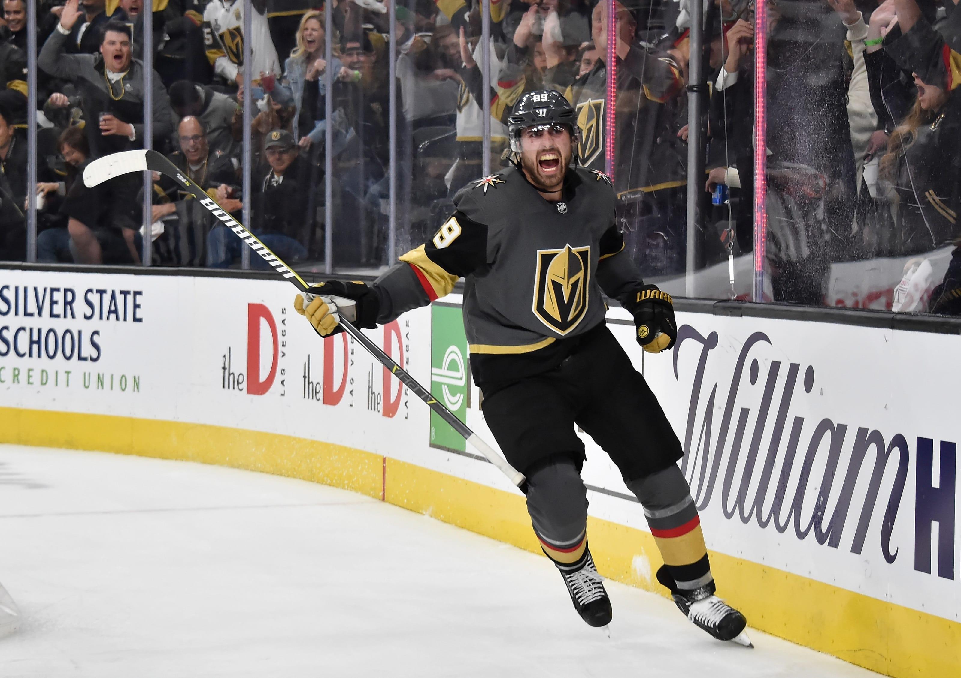 Vegas Golden Knights 2018-19 Report Card: Alex Tuch