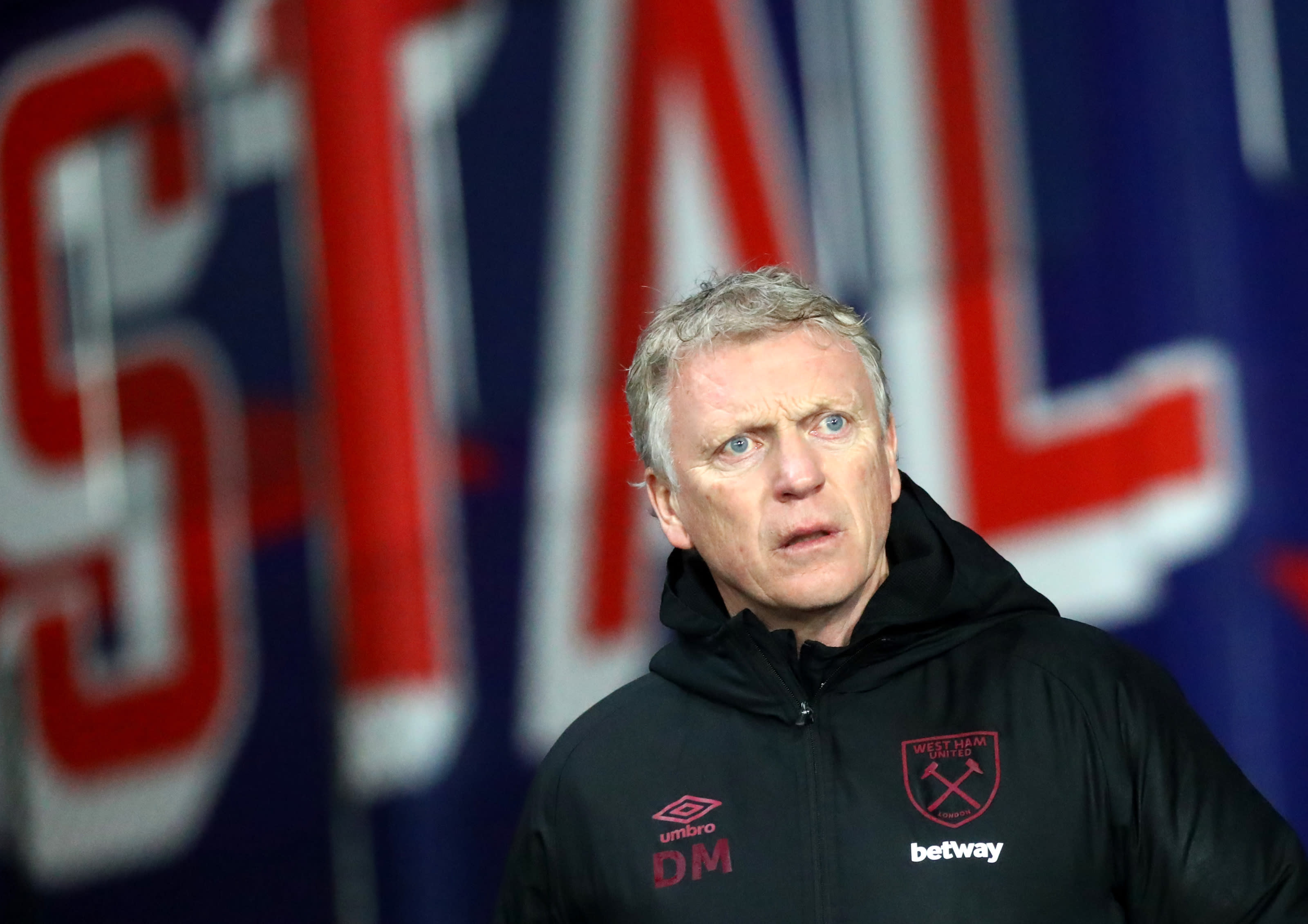 Manager of West Ham David Moyes during the Premier League match. (Photo by Chloe Knott - Danehouse/Getty Images)
