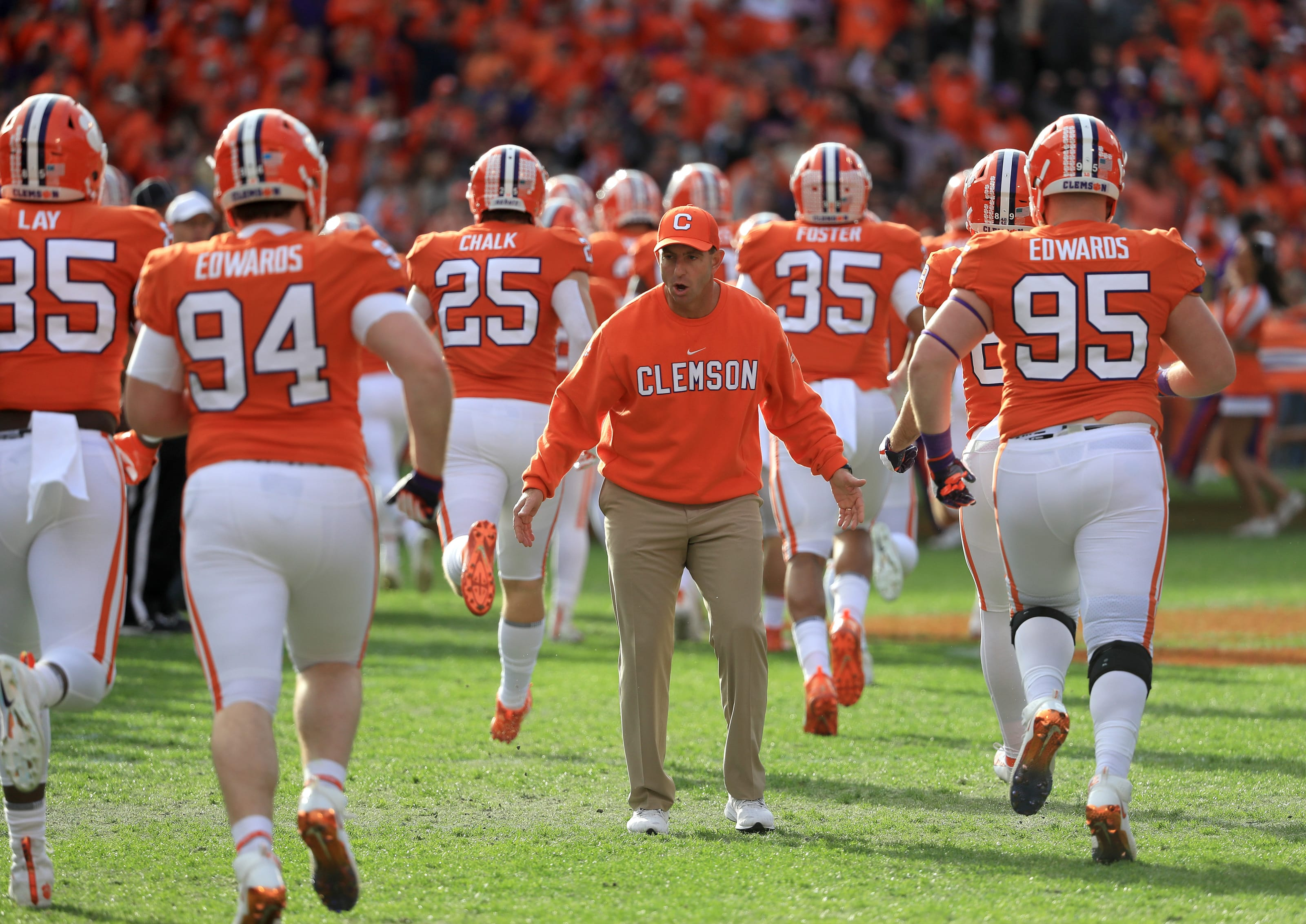 clemson football tigers spring poised breakout camp performances practice into players head game