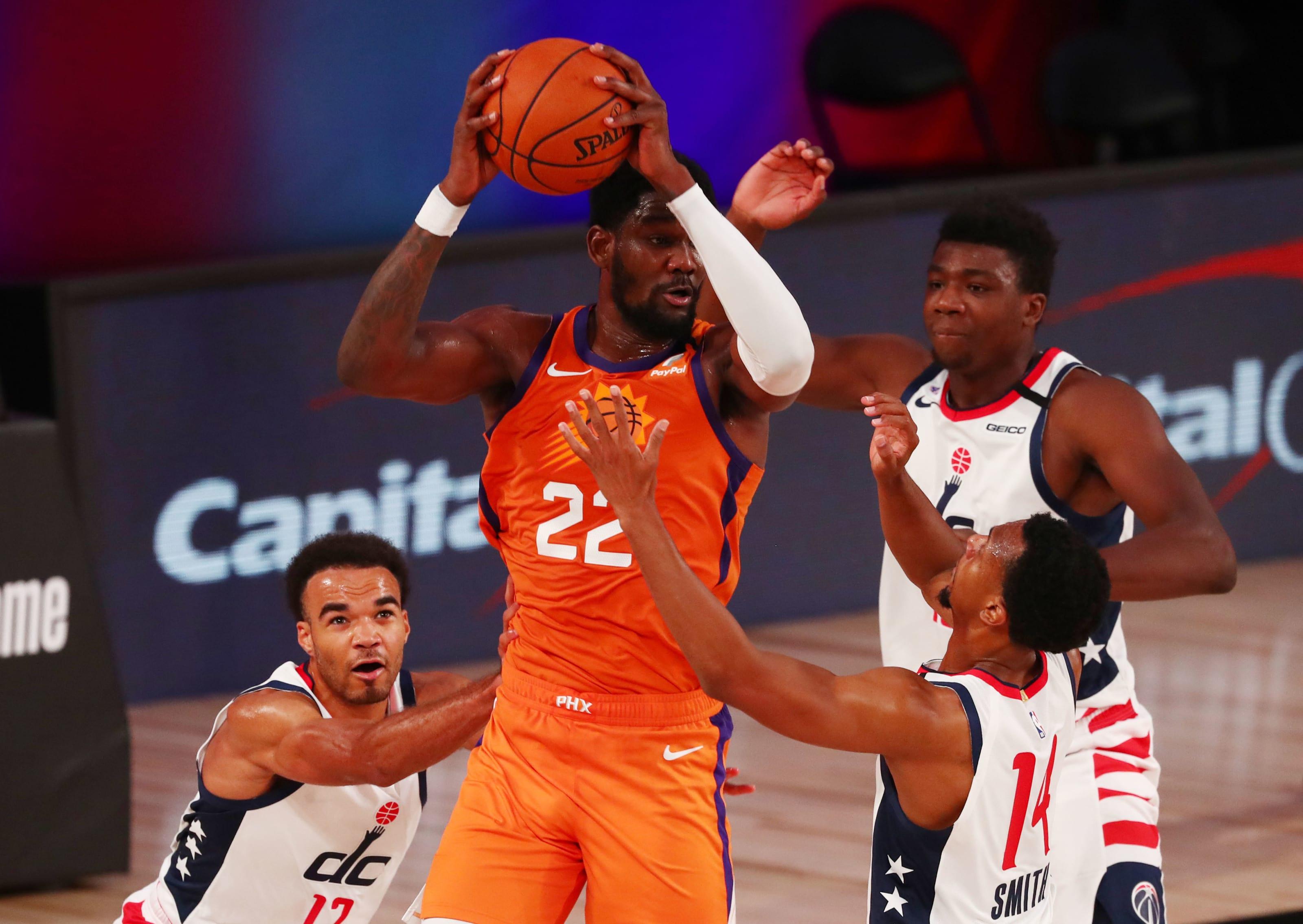 Phoenix Suns, Deandre Ayton (Photo by Kim Klement - Pool/Getty Images)