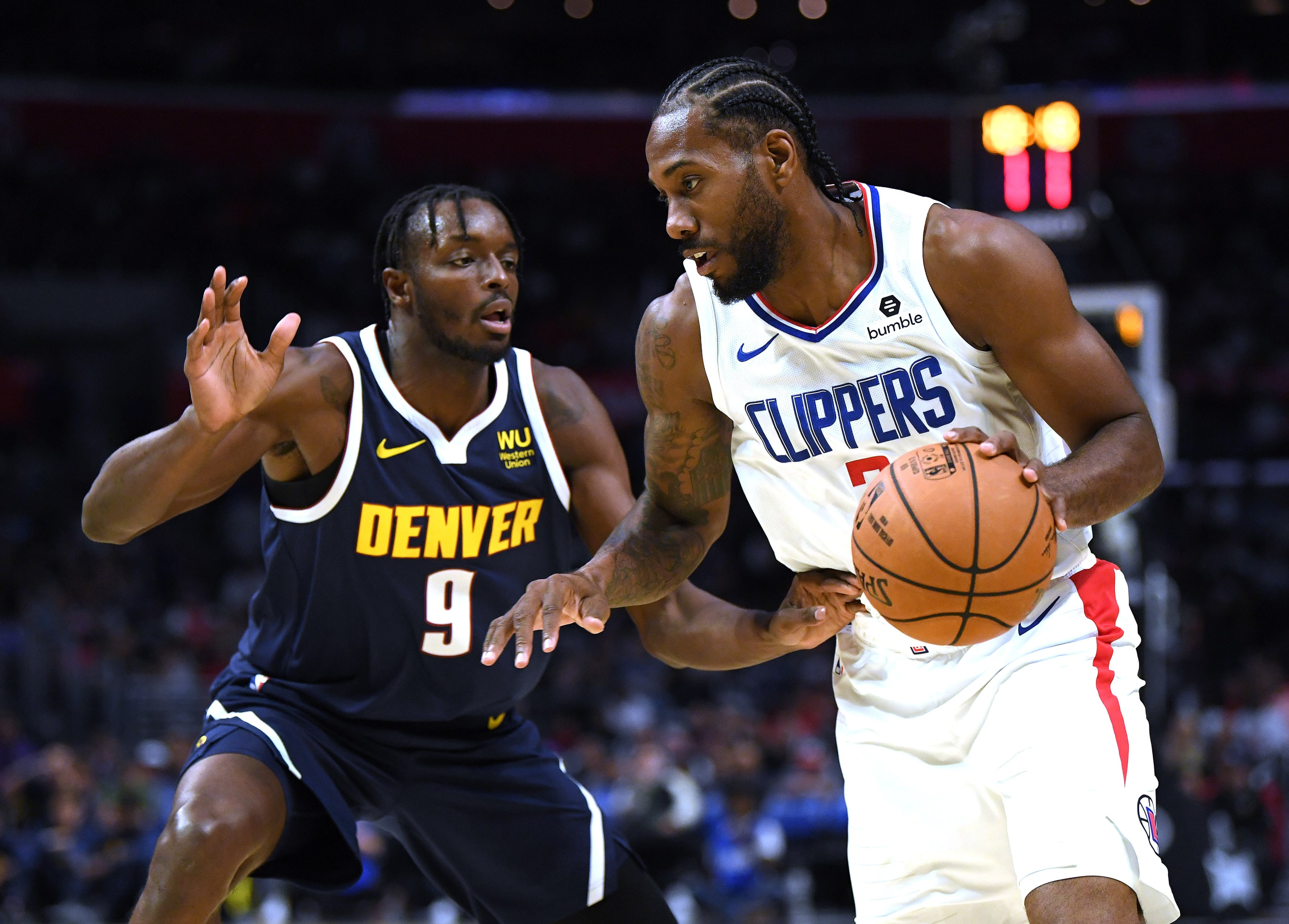 LA Clippers, Kawhi Leonard