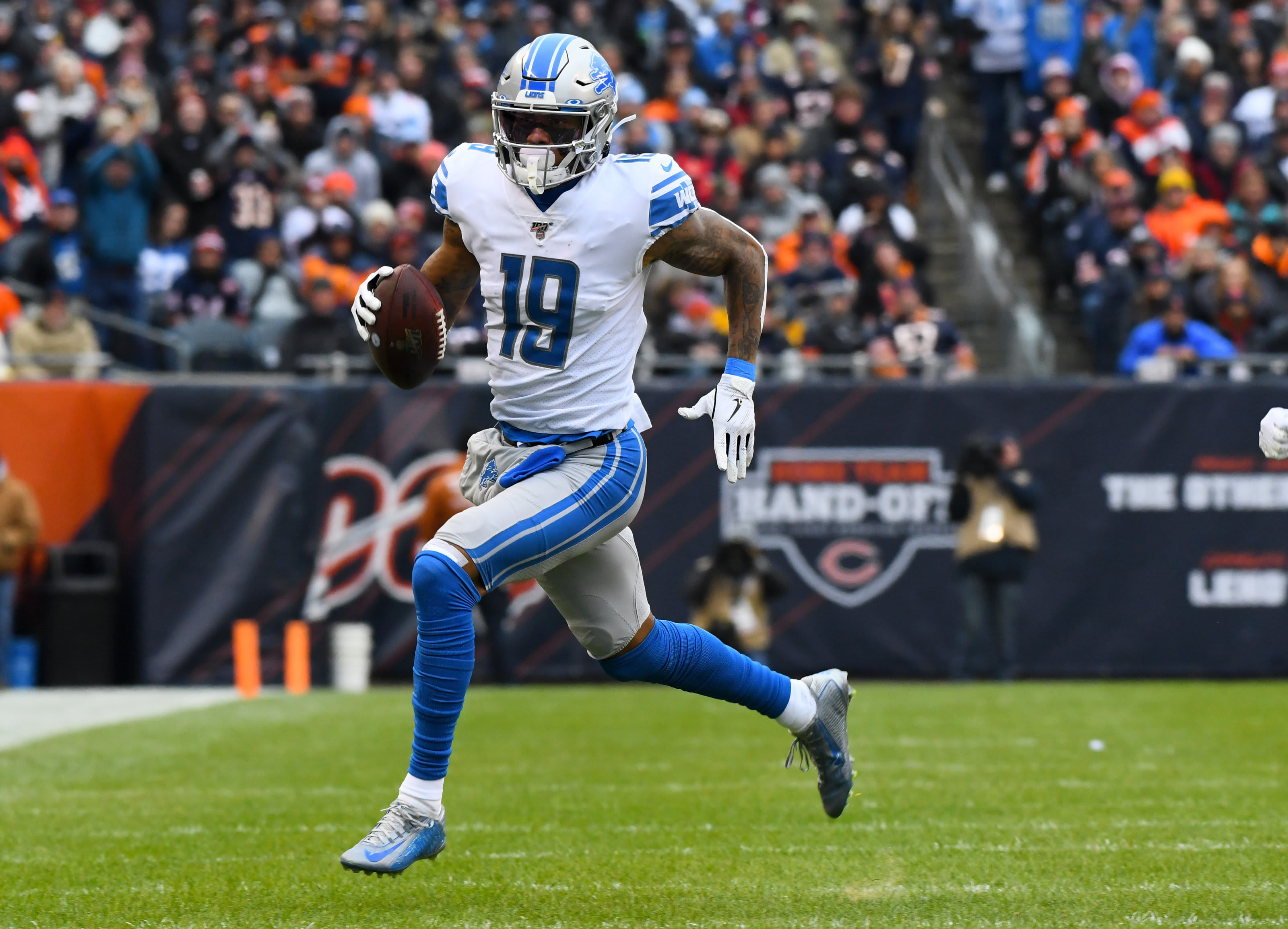 Are the Detroit Lions better off without Kenny Golladay?