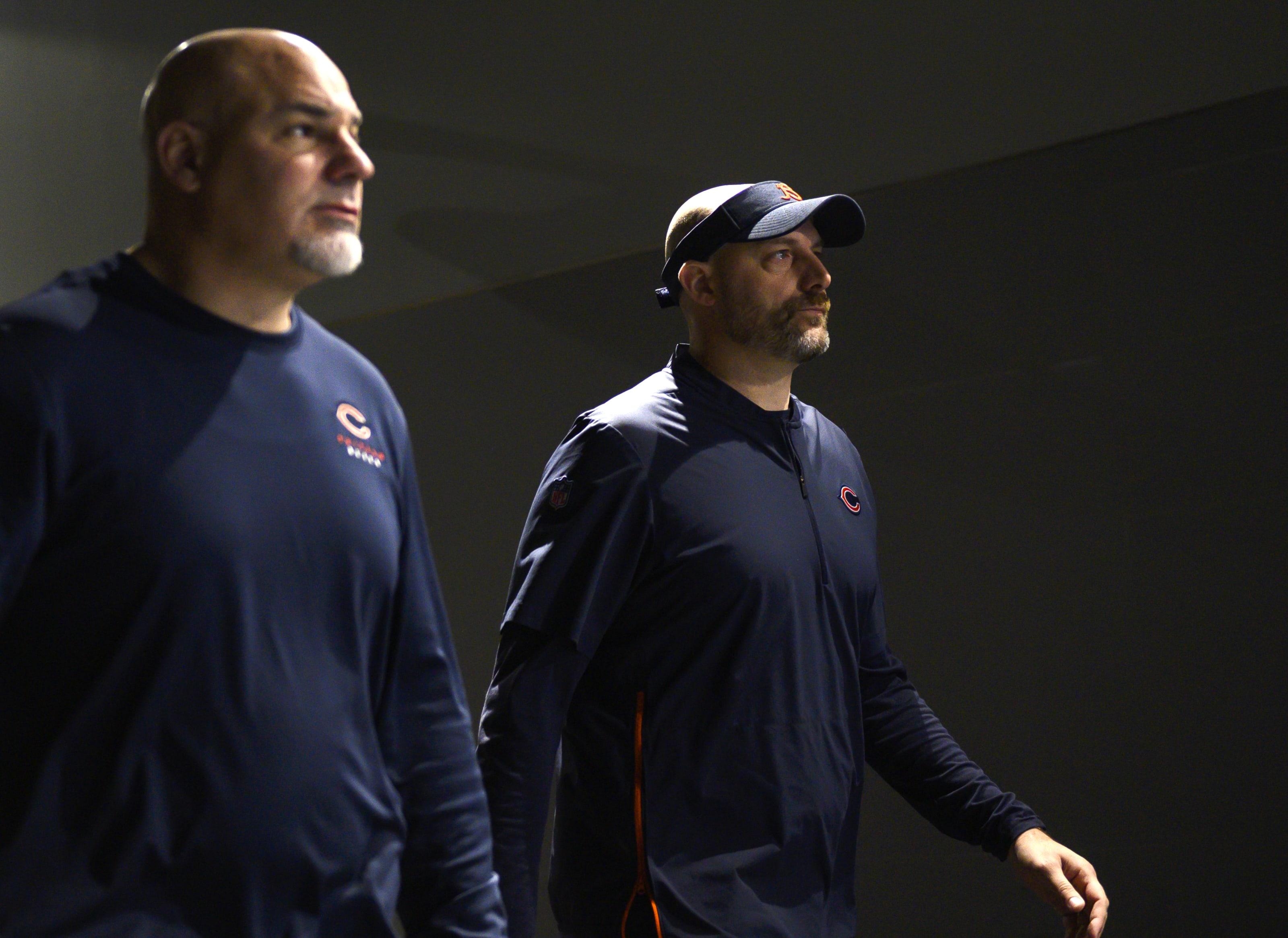 Chicago Bears head coach Matt Nagy