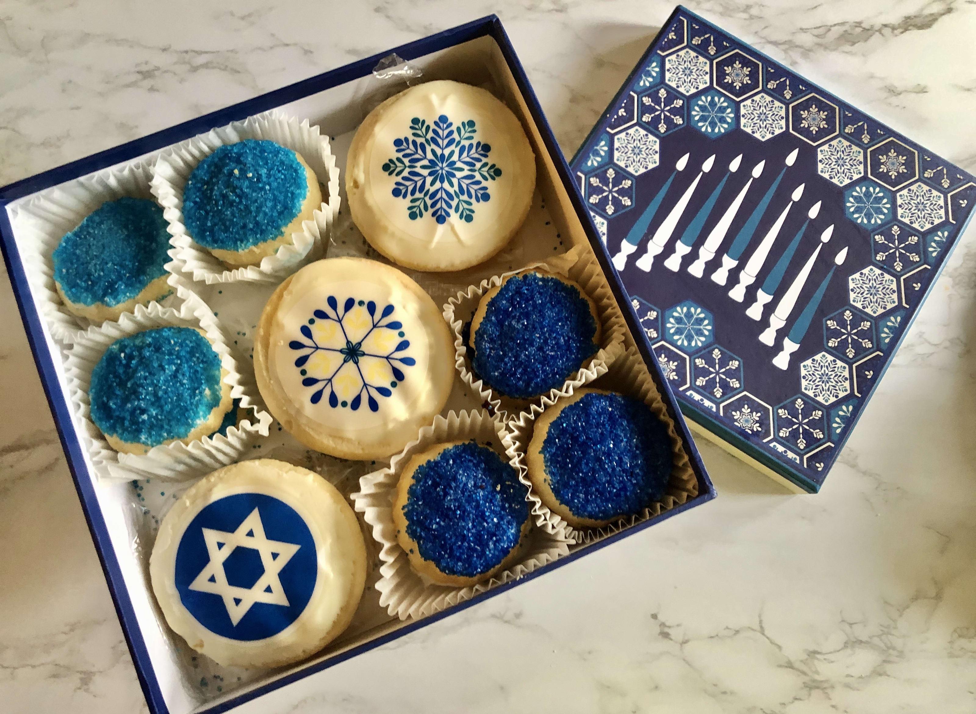 Hanukkah Cookie Box,