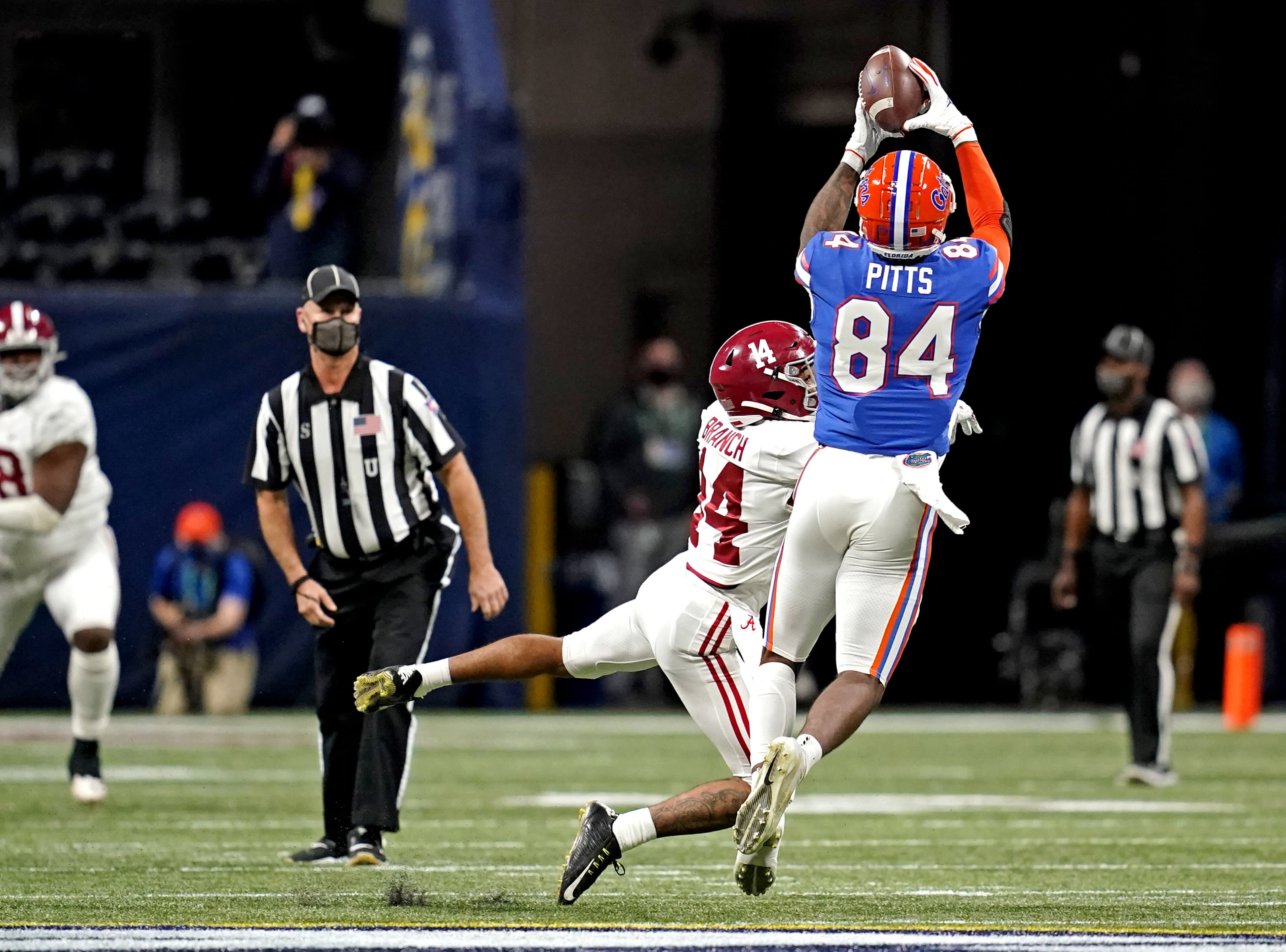 Florida tight end Kyle Pitts
