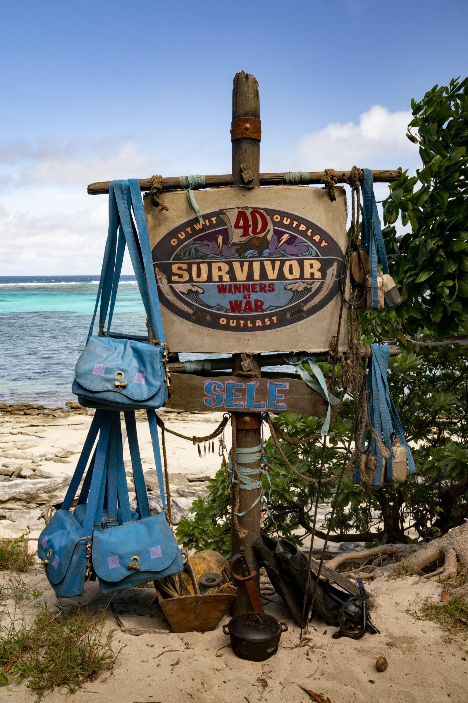 Sele Tribe flag Survivor Winners at War episode 1