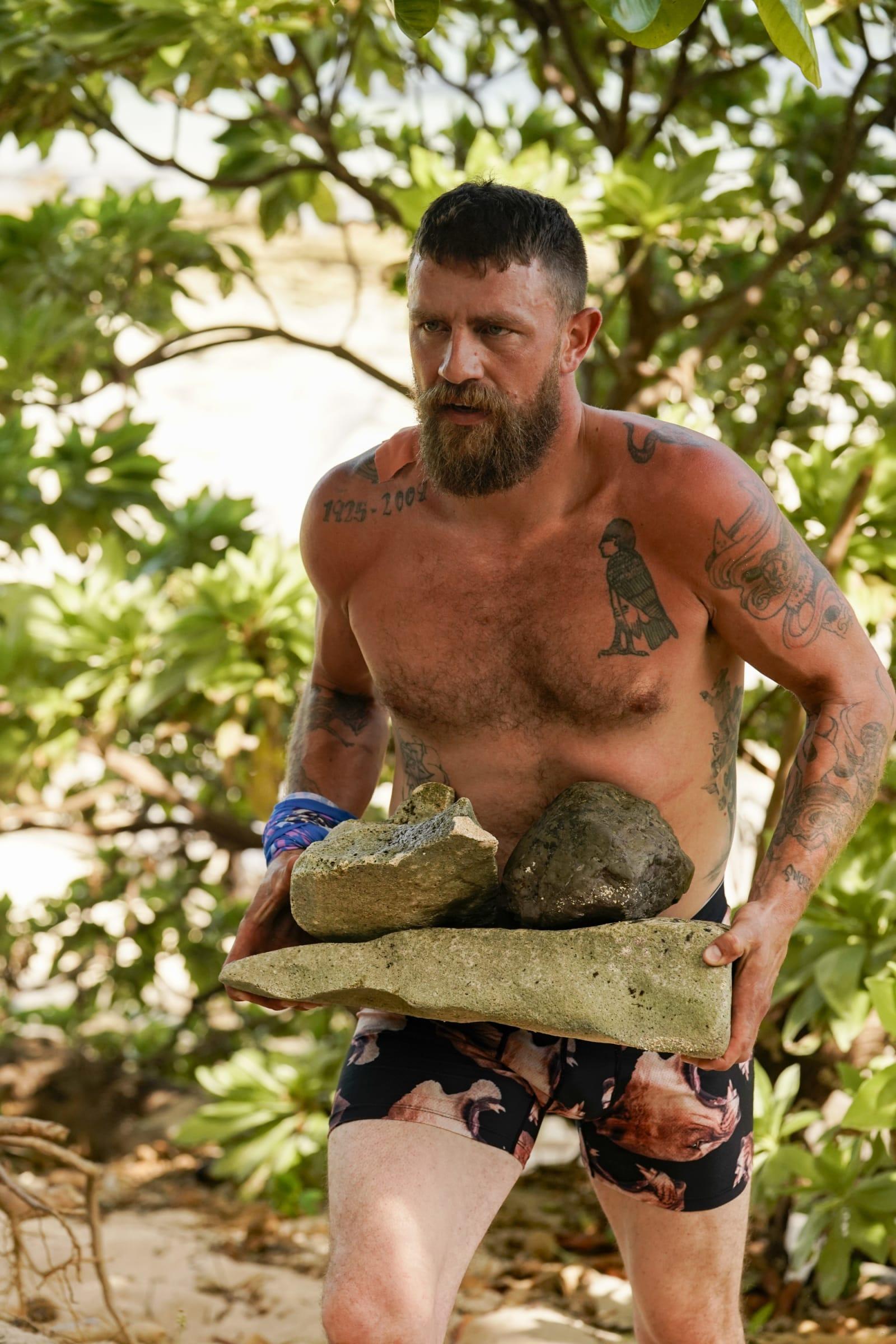 Ben Driebergen Survivor Winners at War episode 1