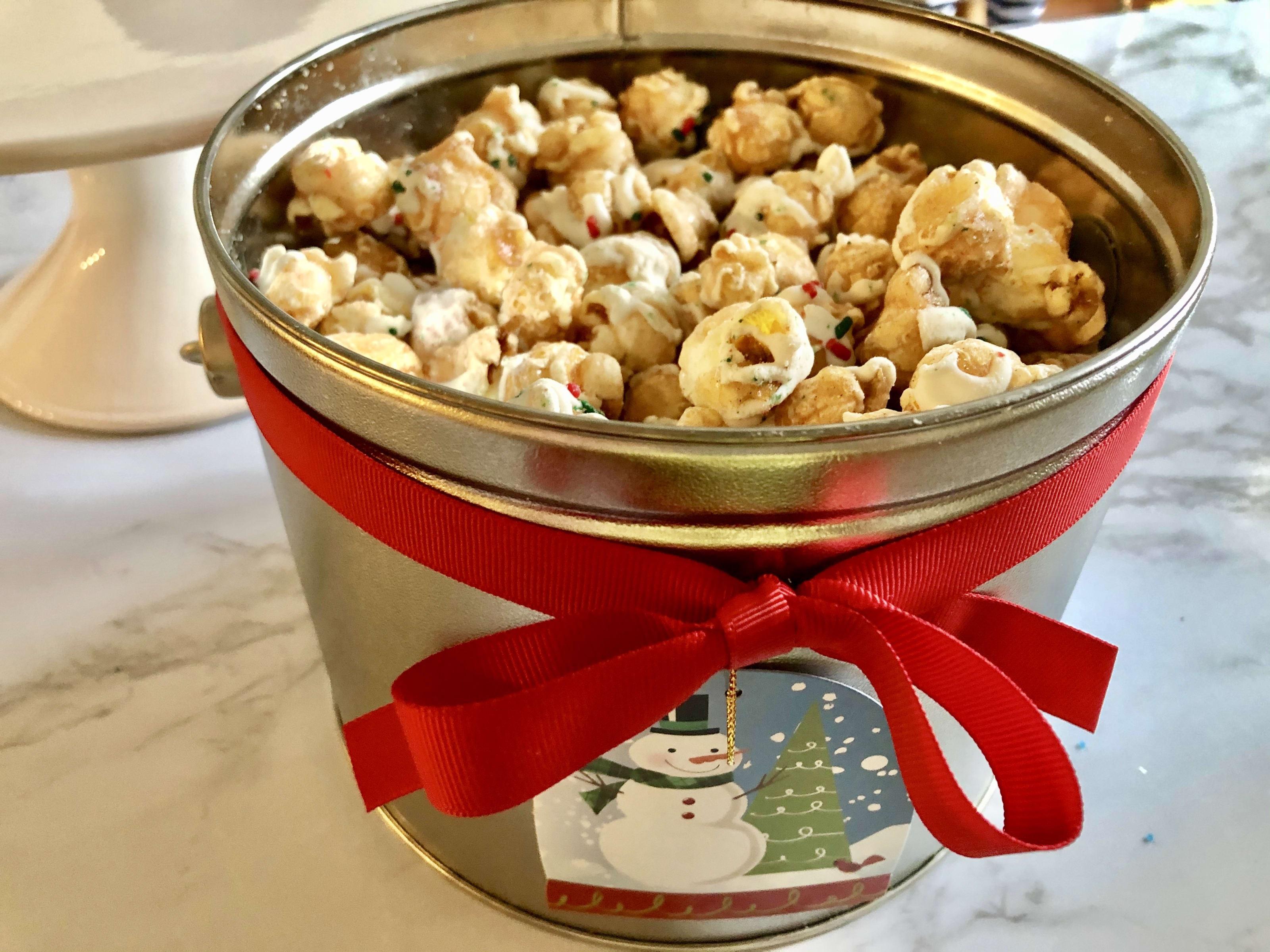 Magical Holiday Popcorn Pail