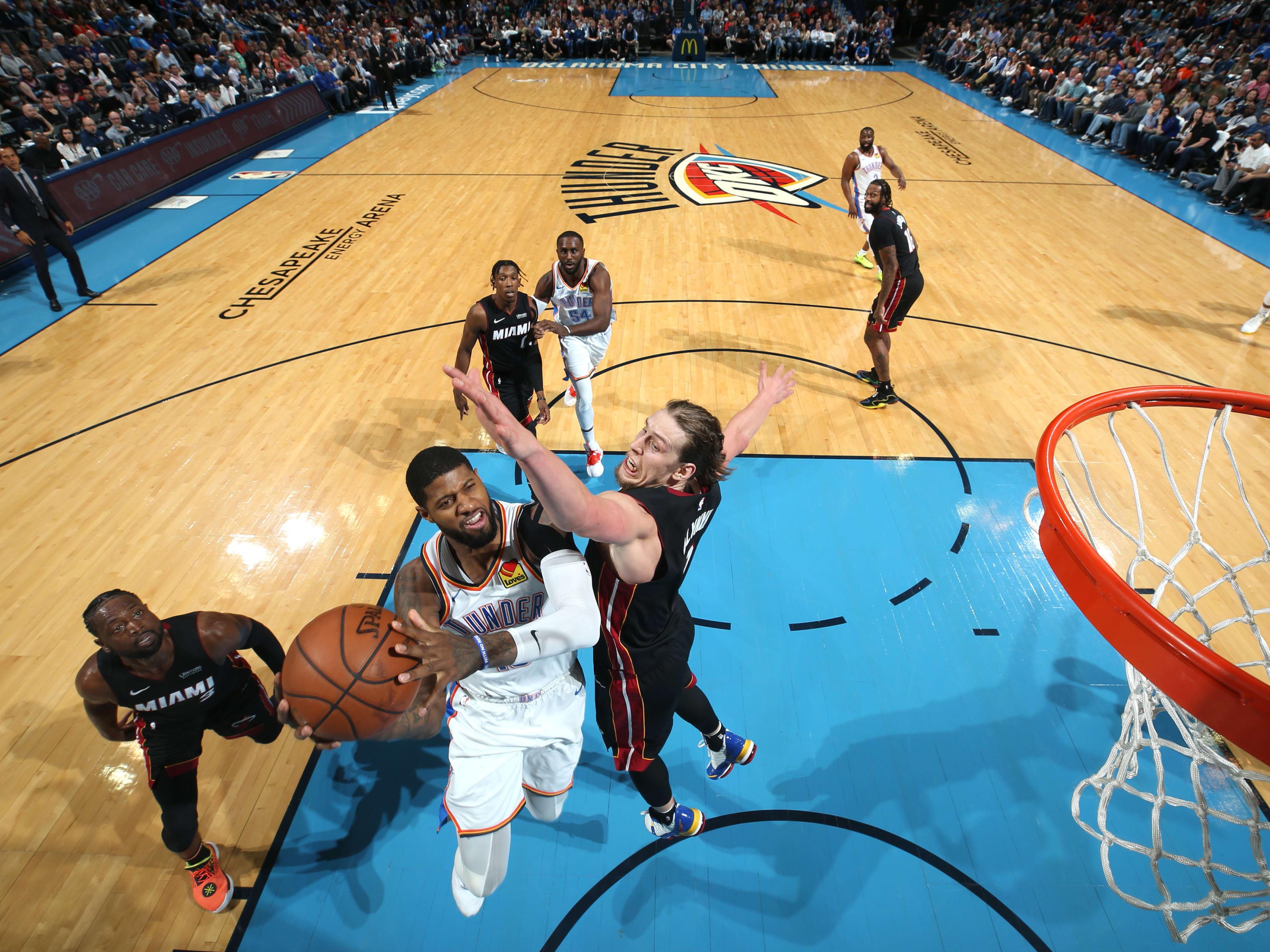 OKC Thunder, NBA Power Rankings week 22