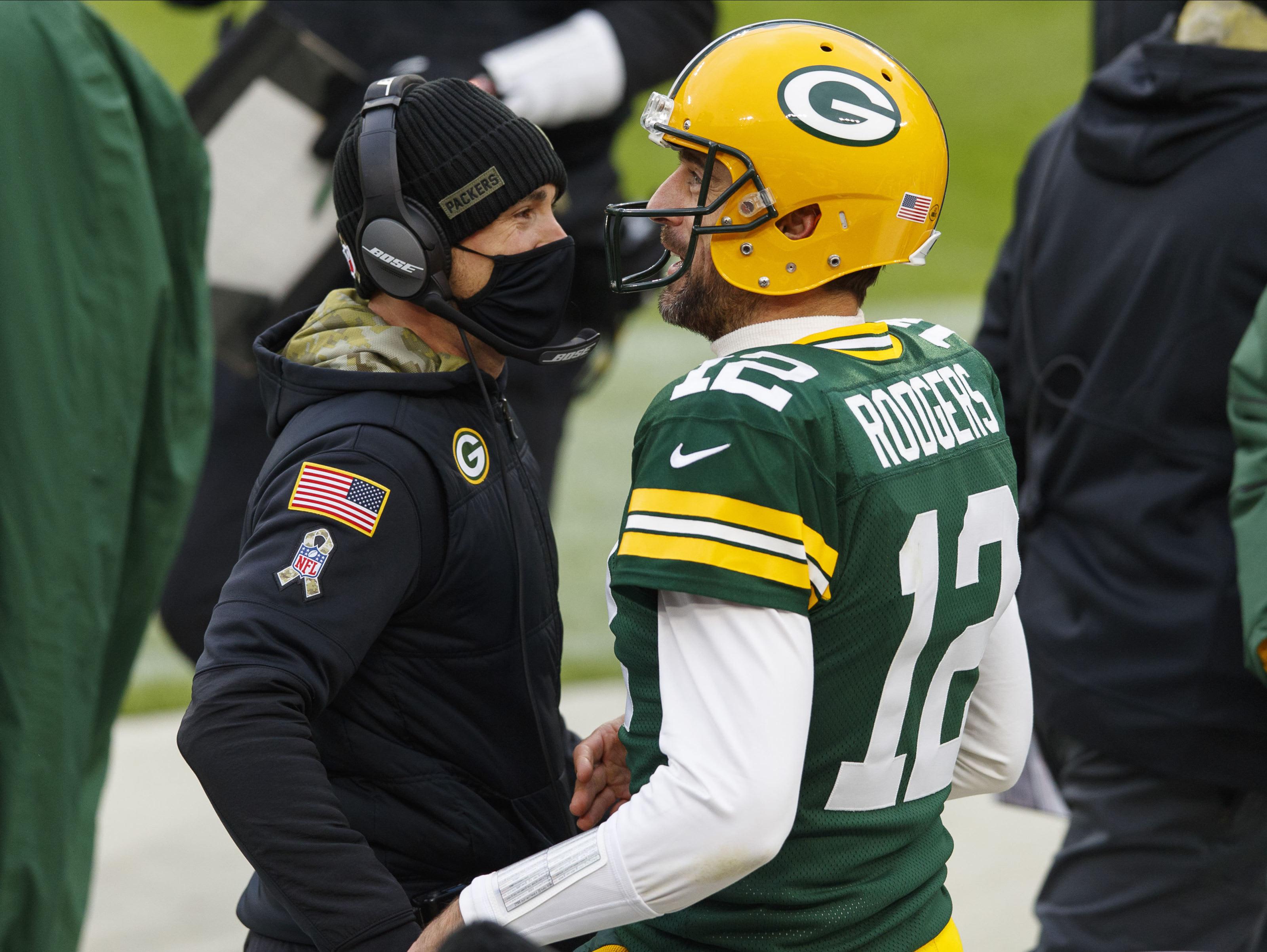 Green Bay Packers, Matt LaFleur, Aaron Rodgers