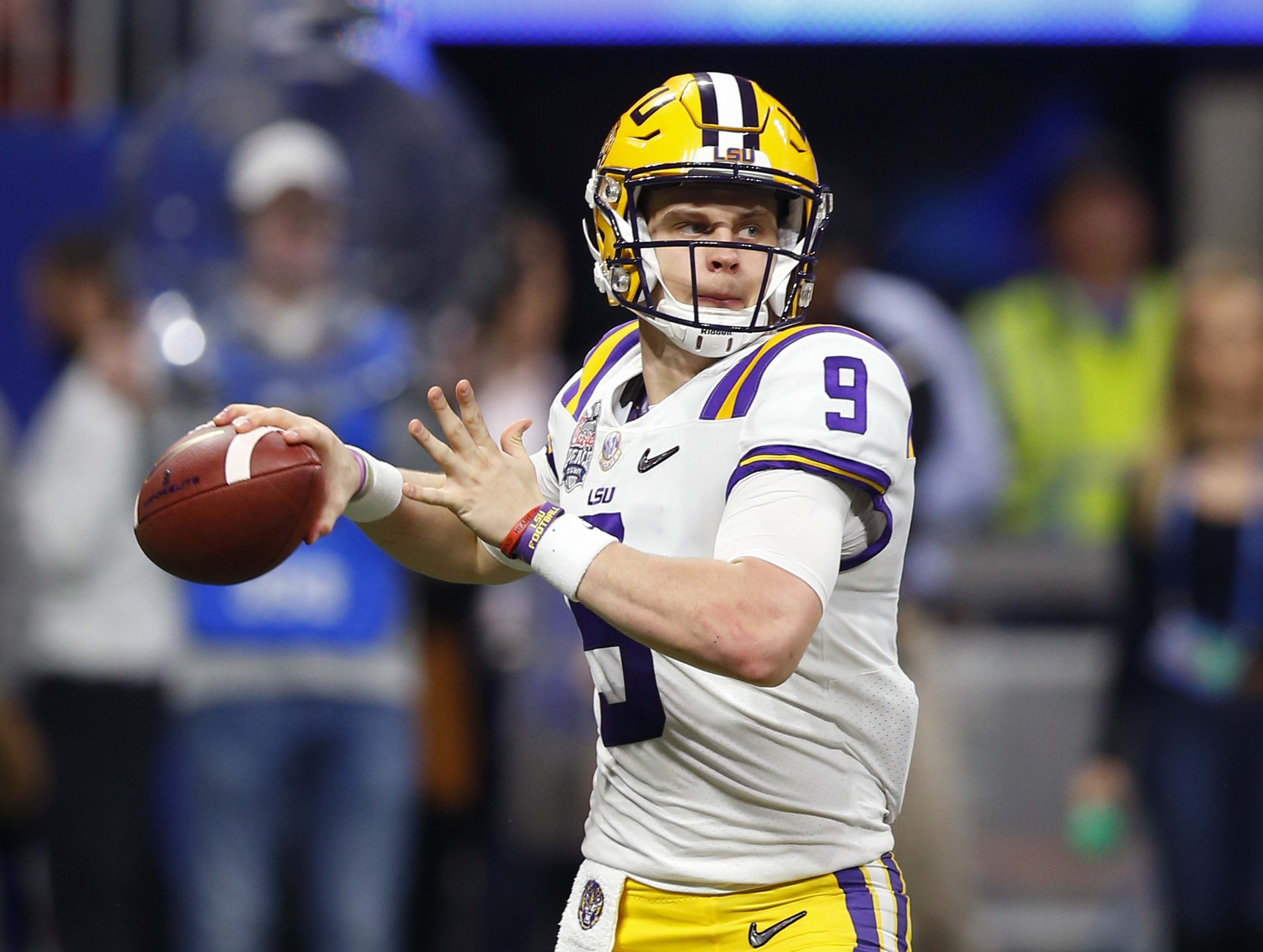 Joe Burrow 2020 NFL Draft