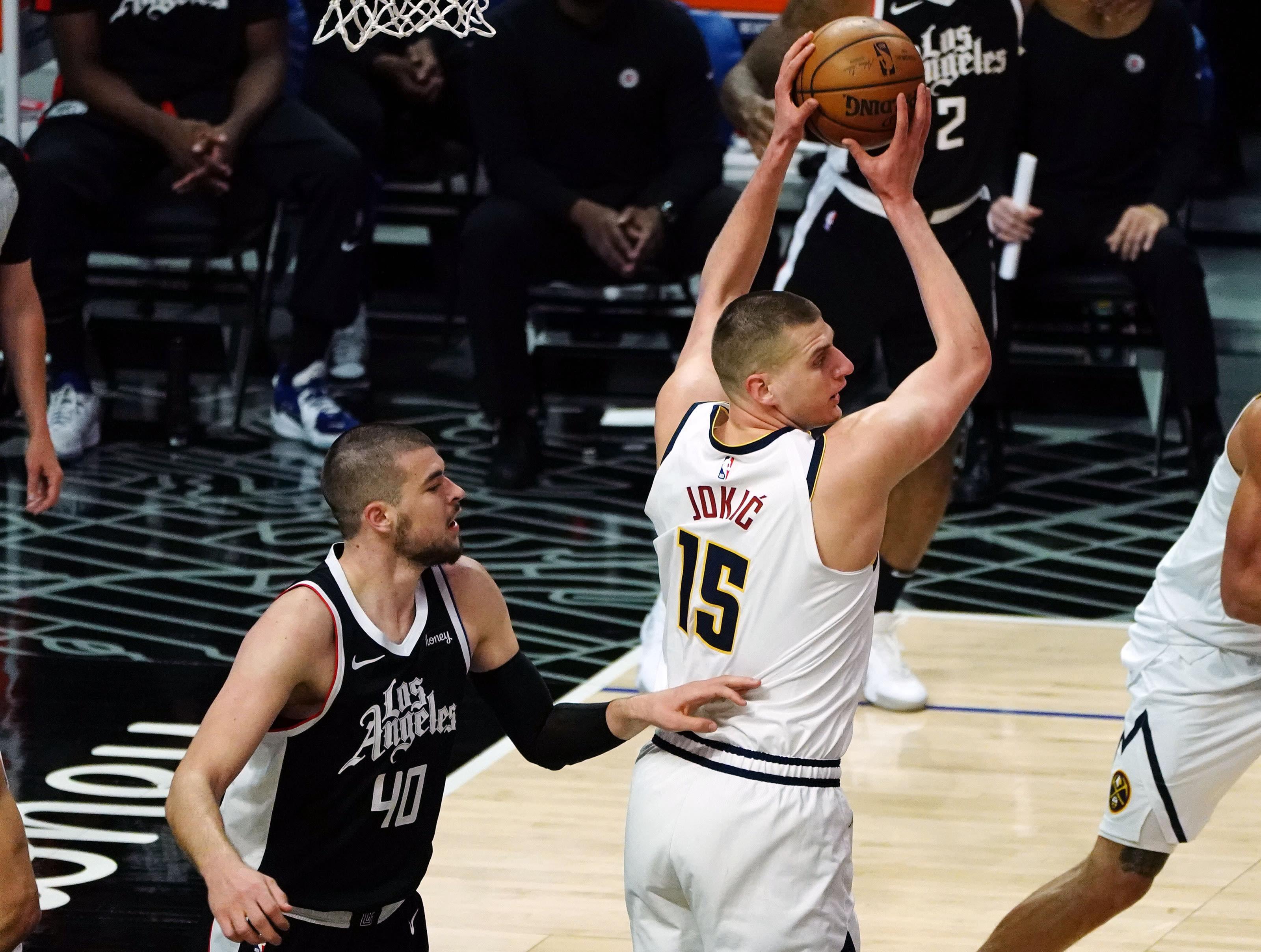 Denver Nuggets, Nikola Jokic Mandatory Credit: Gary A. Vasquez-USA TODAY Sports