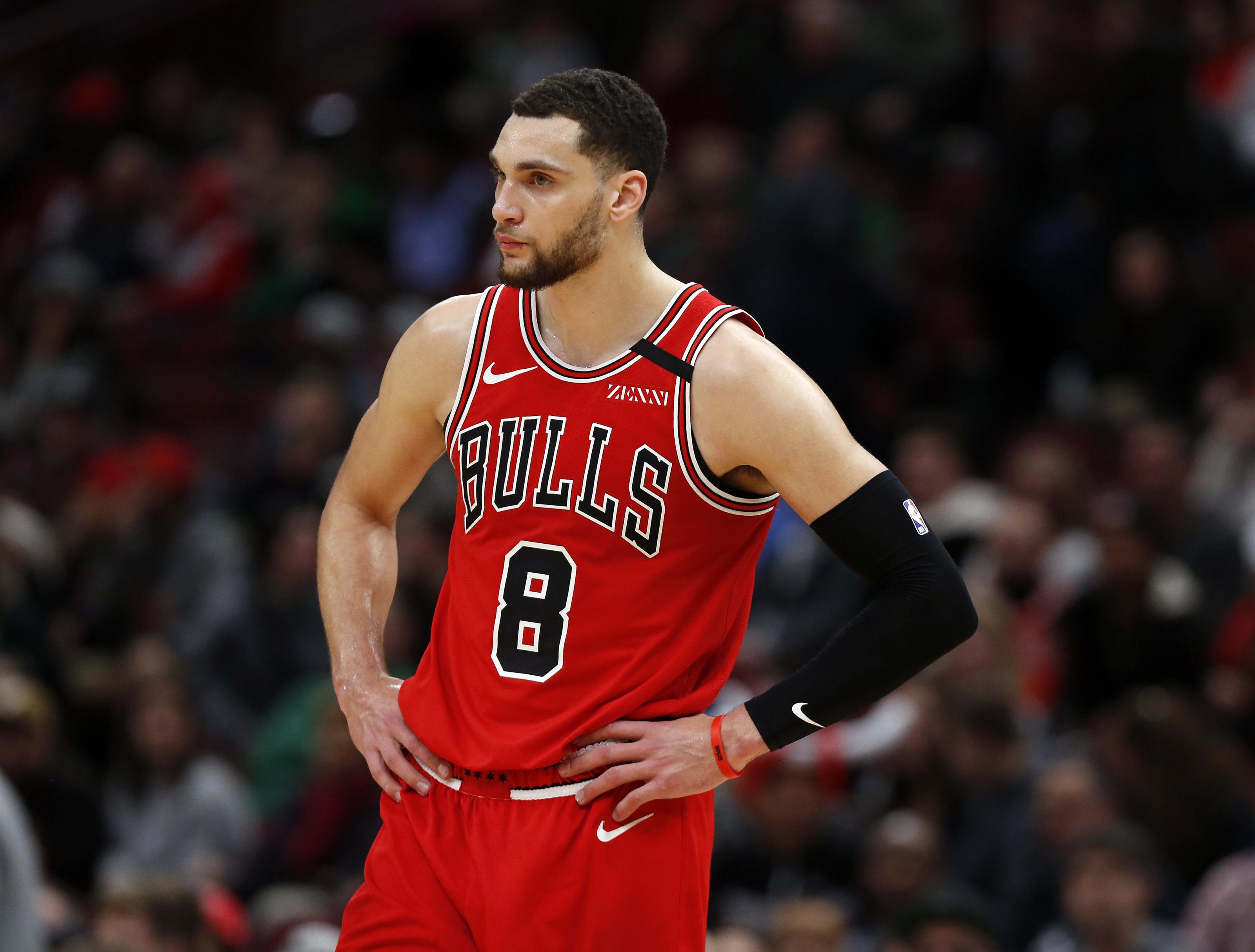 NBA Chicago Bulls Zach LaVine