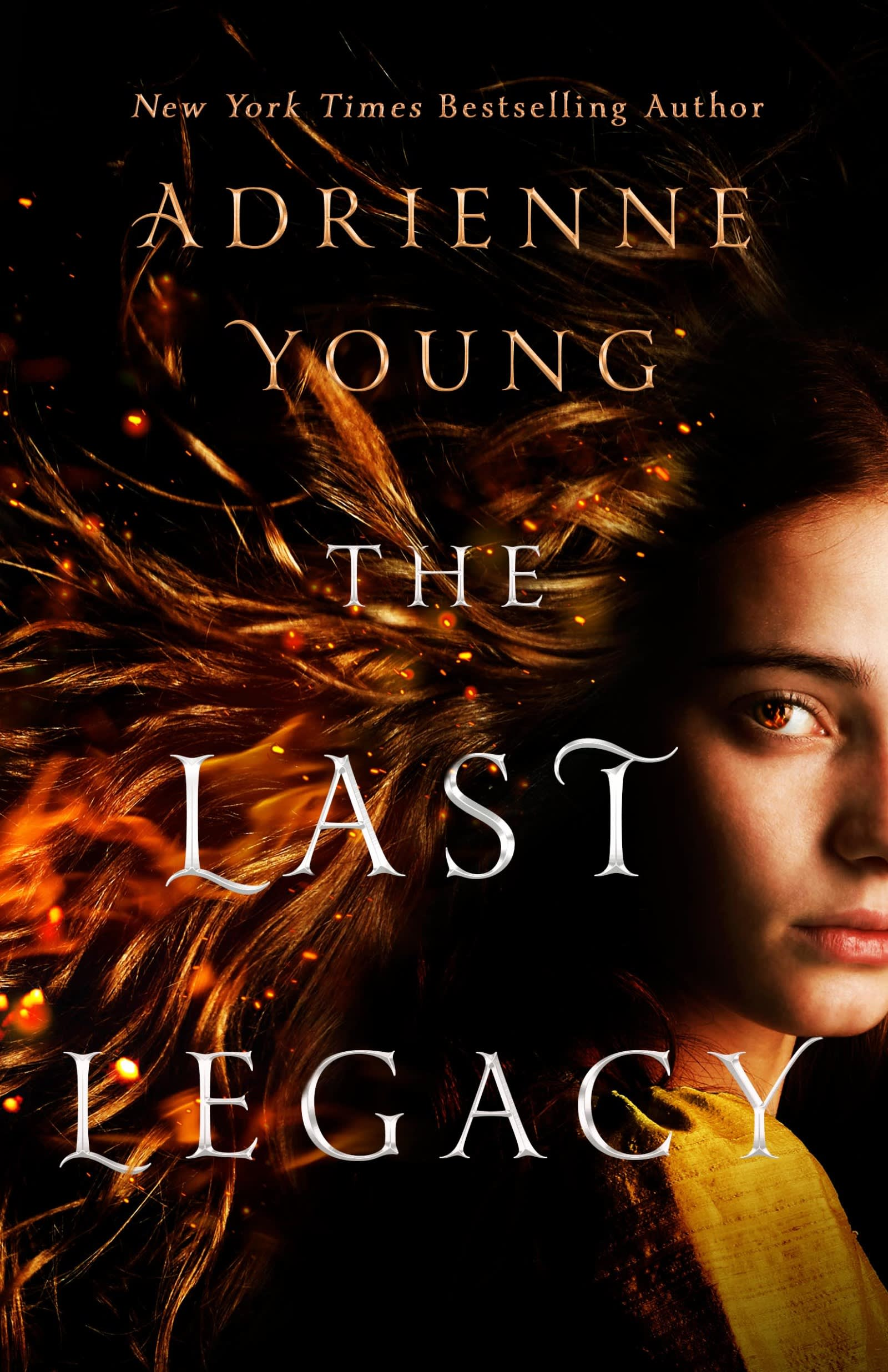 The Last Legacy Adrienne Young book cover