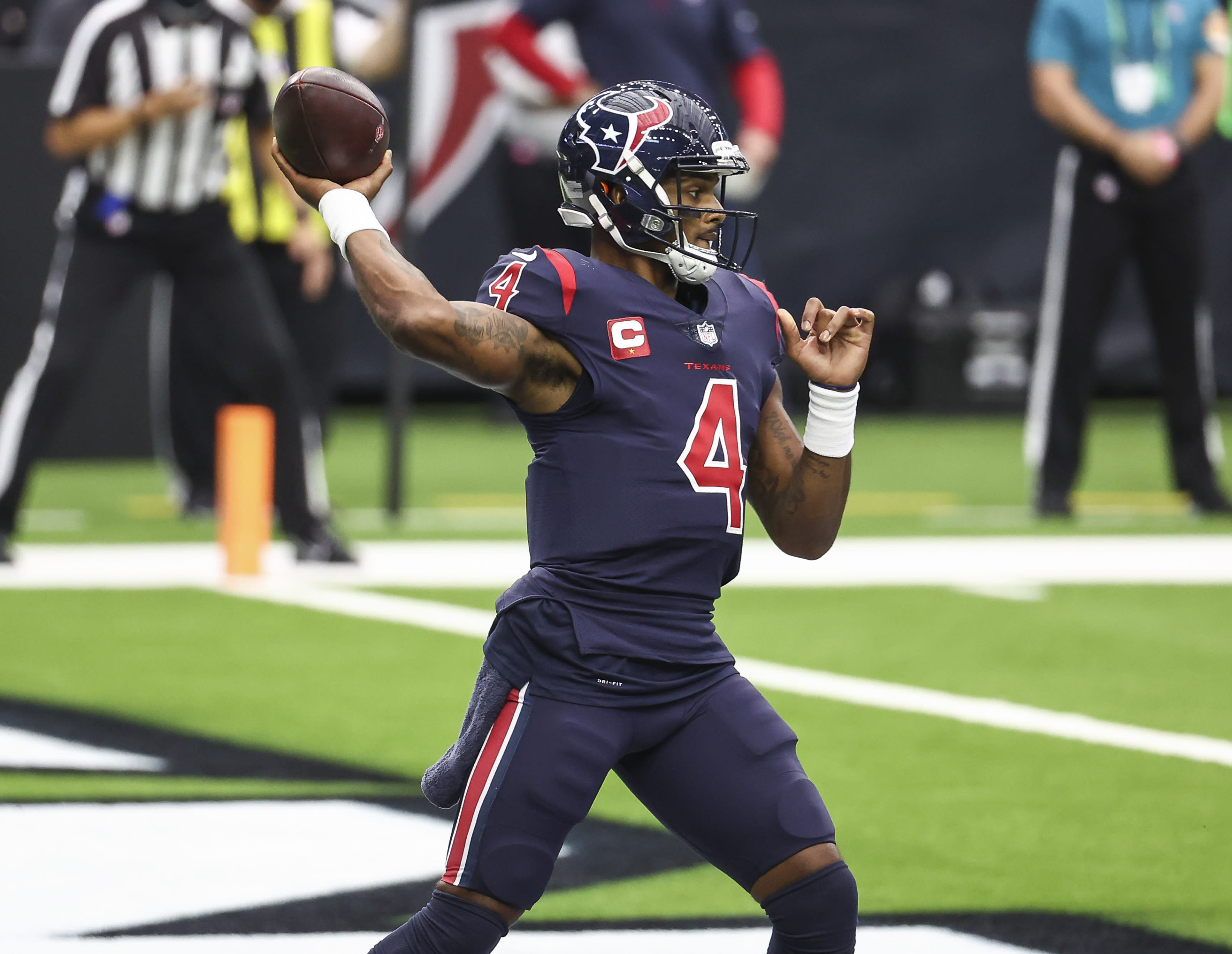 Houston Texans Deshaun Watson Stats At The Bye Week