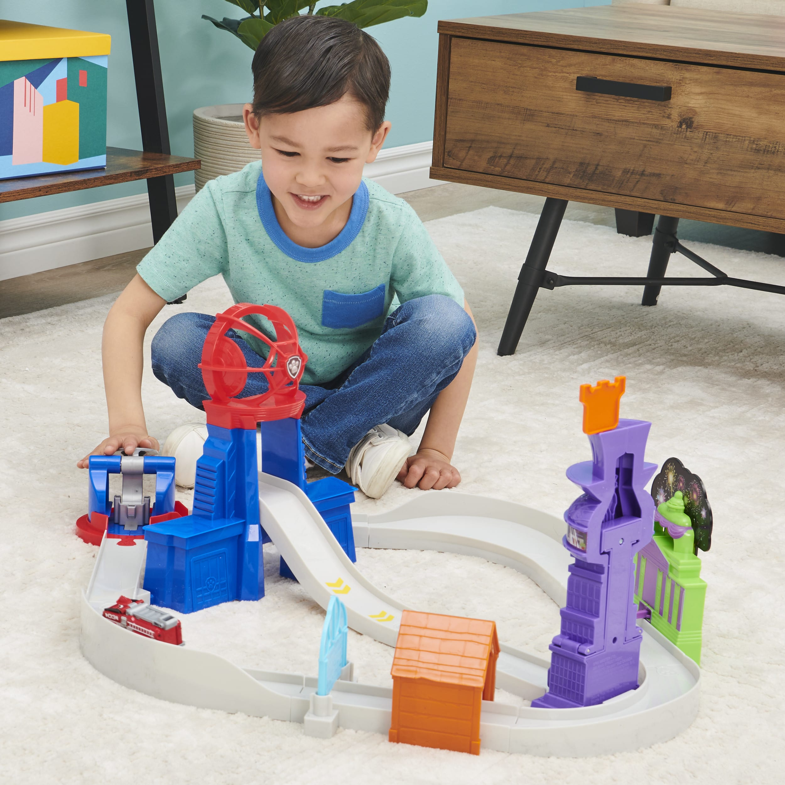 Discover Spin Master Ltd's PAW Patrol: The Movie racetrack at Walmart.