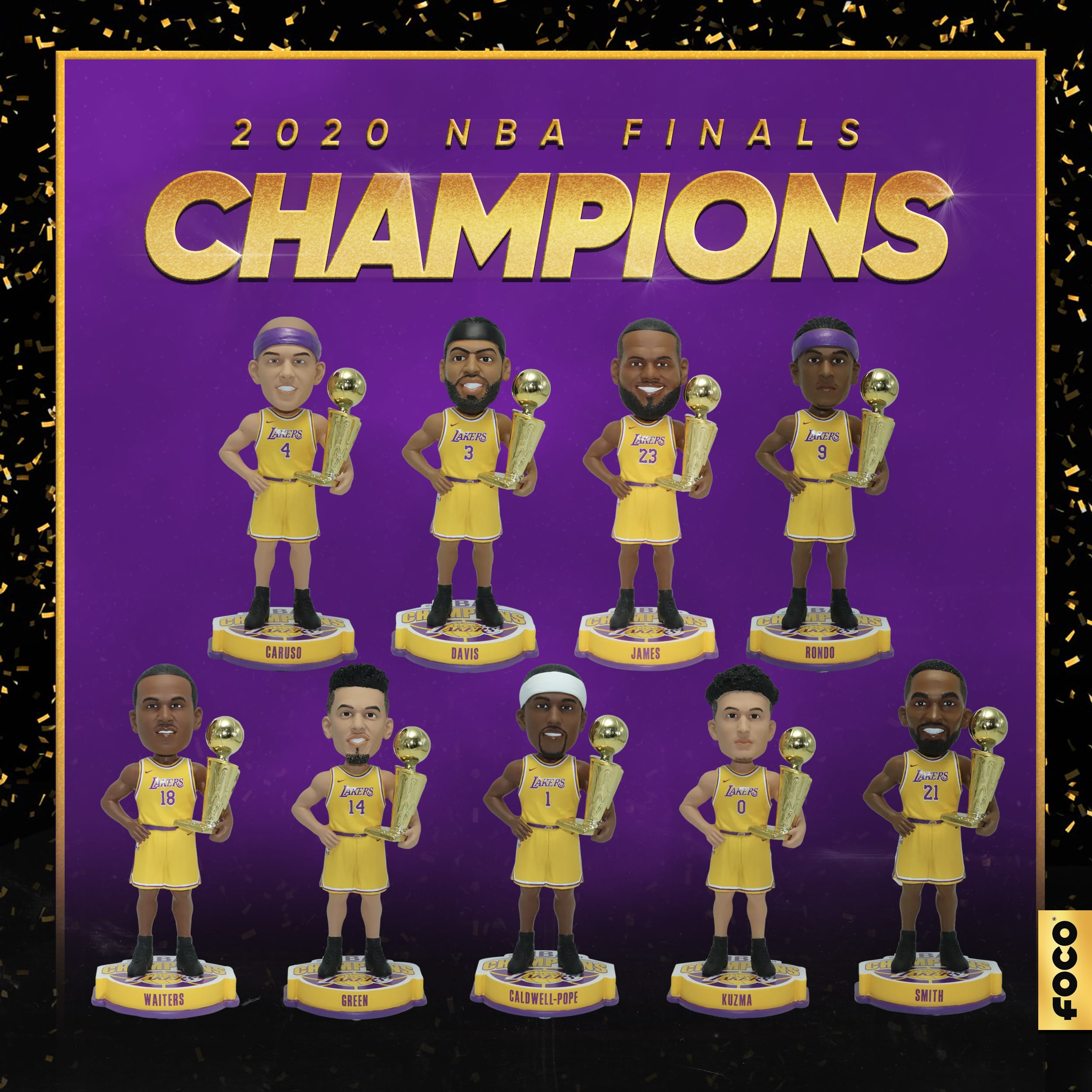 Celebrate the Los Angeles Lakers NBA Championship with new gear