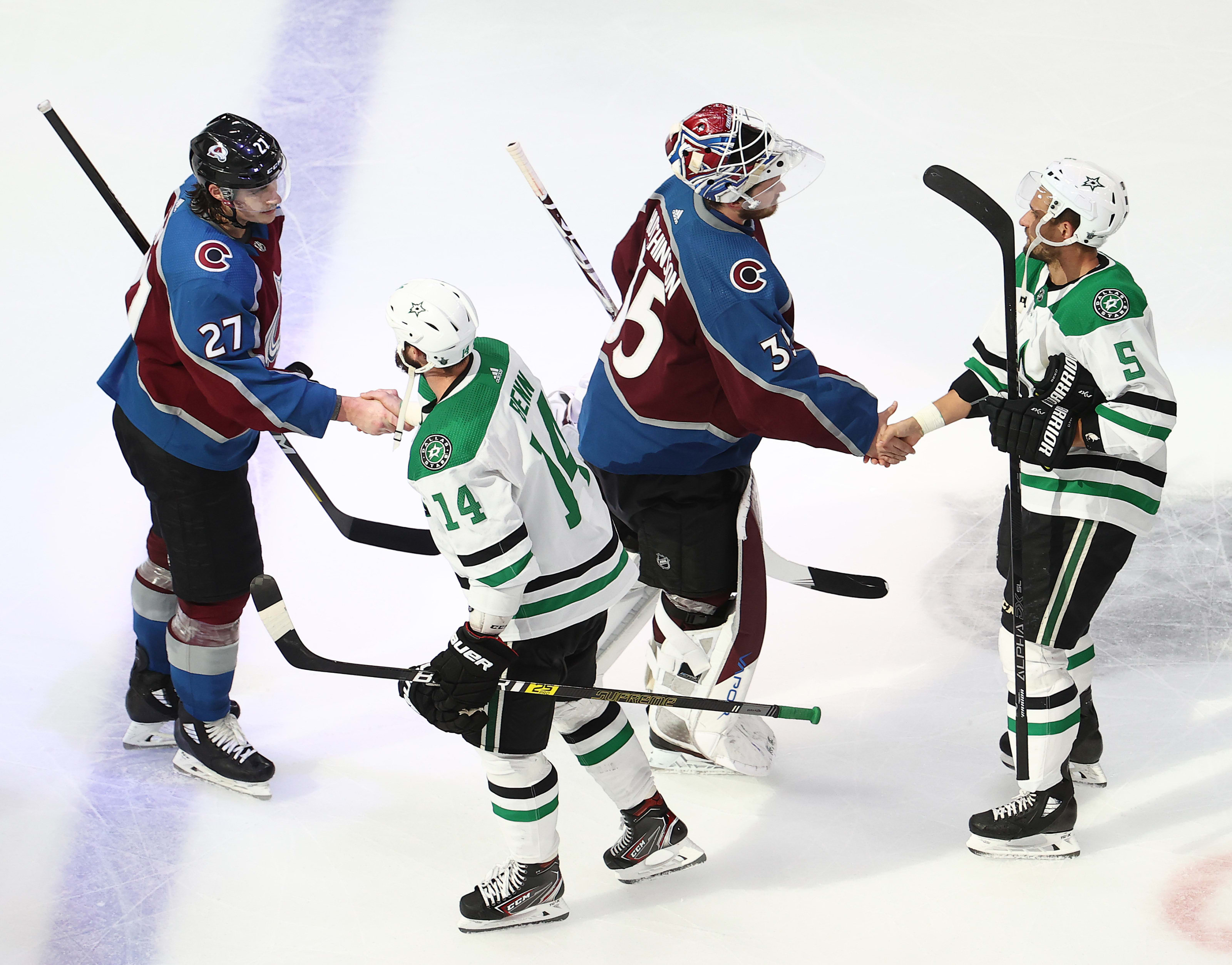 Colorado Avalanche, Dallas Stars
