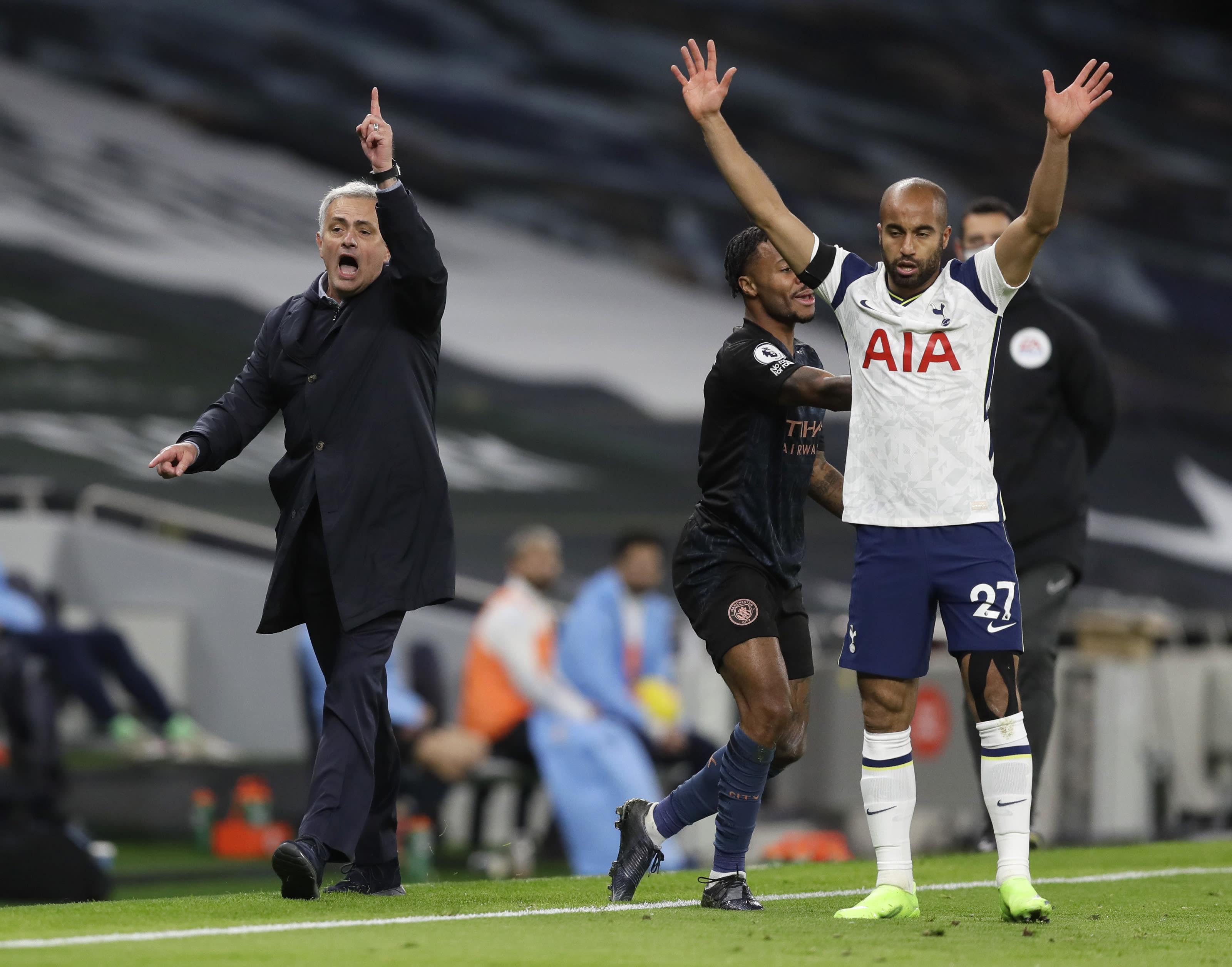 That Was A Masterclass Mourinho Tottenham Stun Man City 2 0