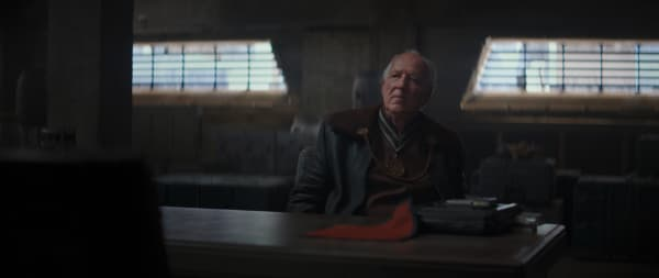 Werner Herzog is the Client in the Disney+ series THE MANDALORIAN.