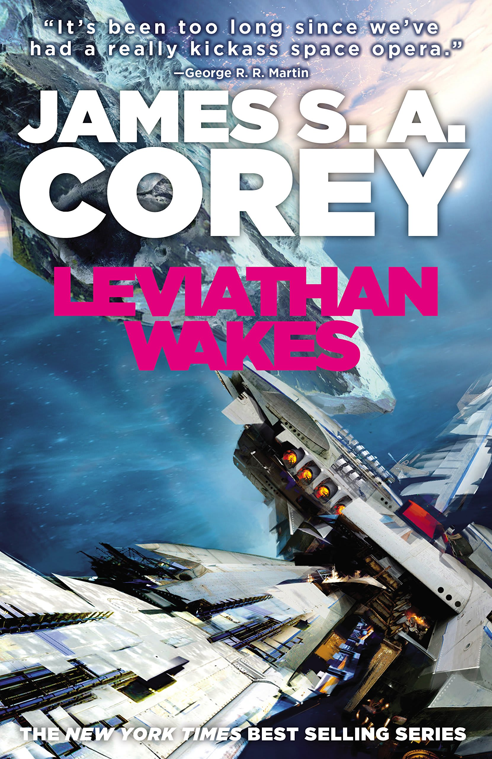 Discover Orbit's 'Leviathan Wakes' in The Expanse series by James S. A. Corey on Amazon.