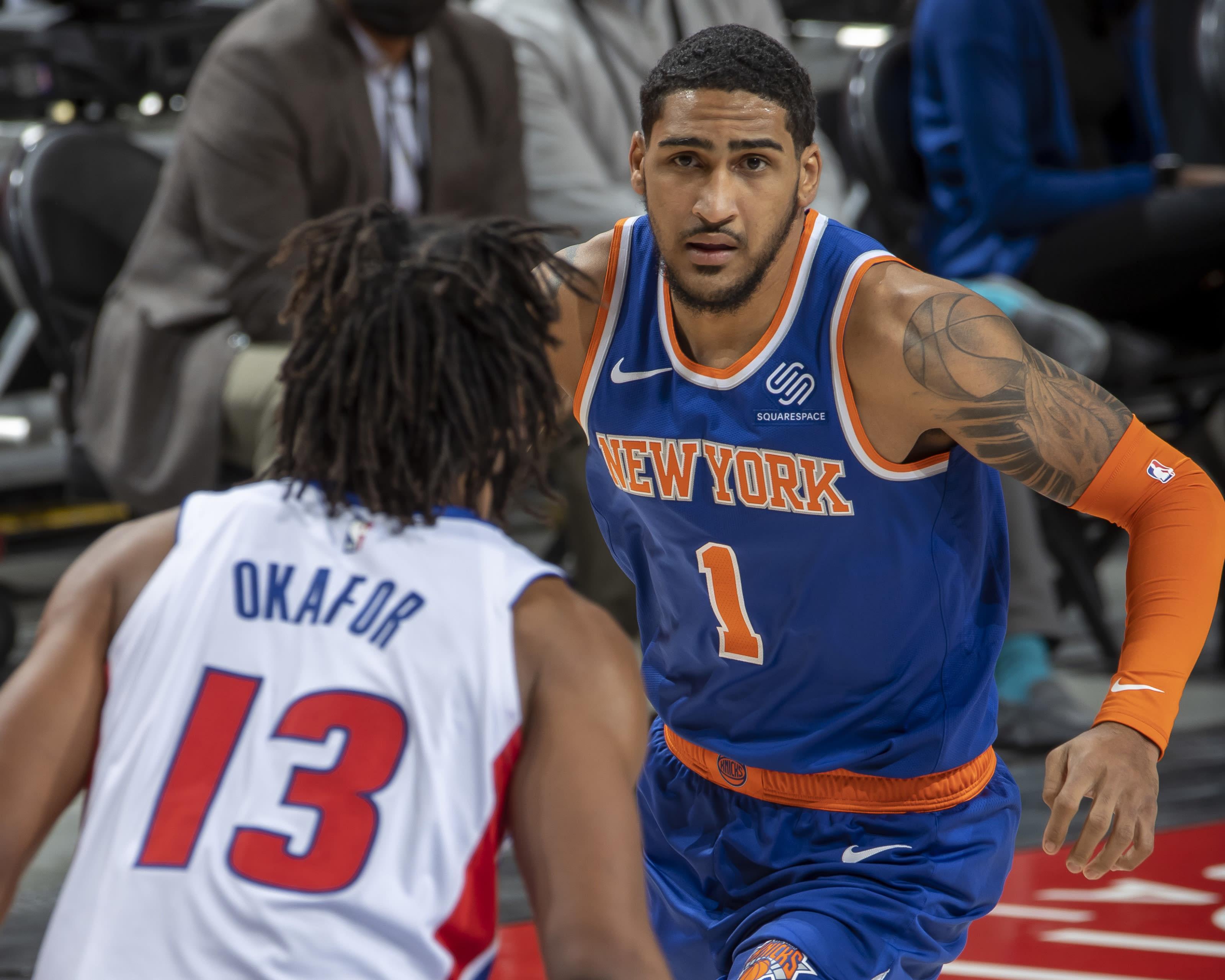 NY Knicks, Obi Toppin, Mitchell Robinson