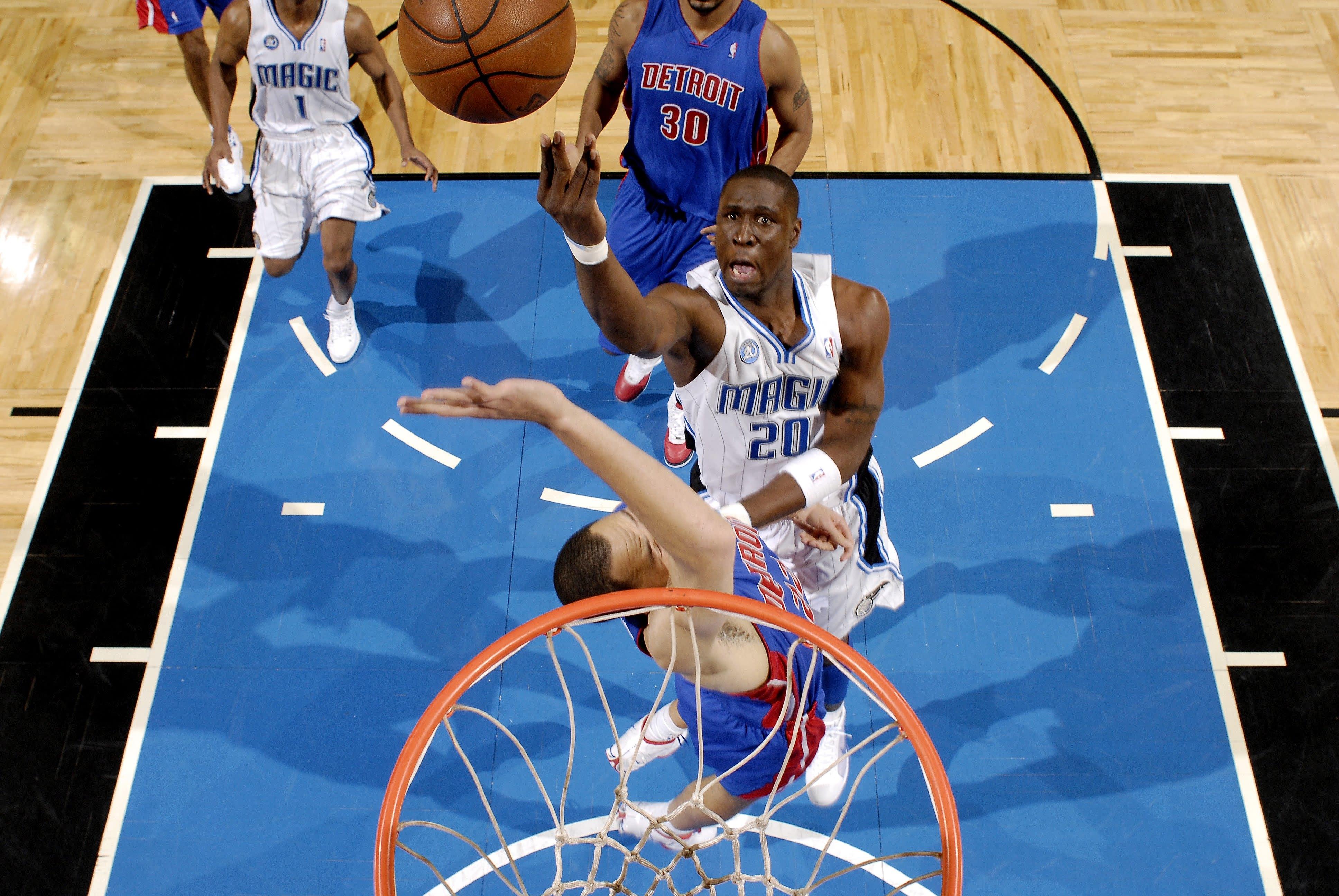 Mickael Pietrus, Orlando Magic, Detroit Pistons