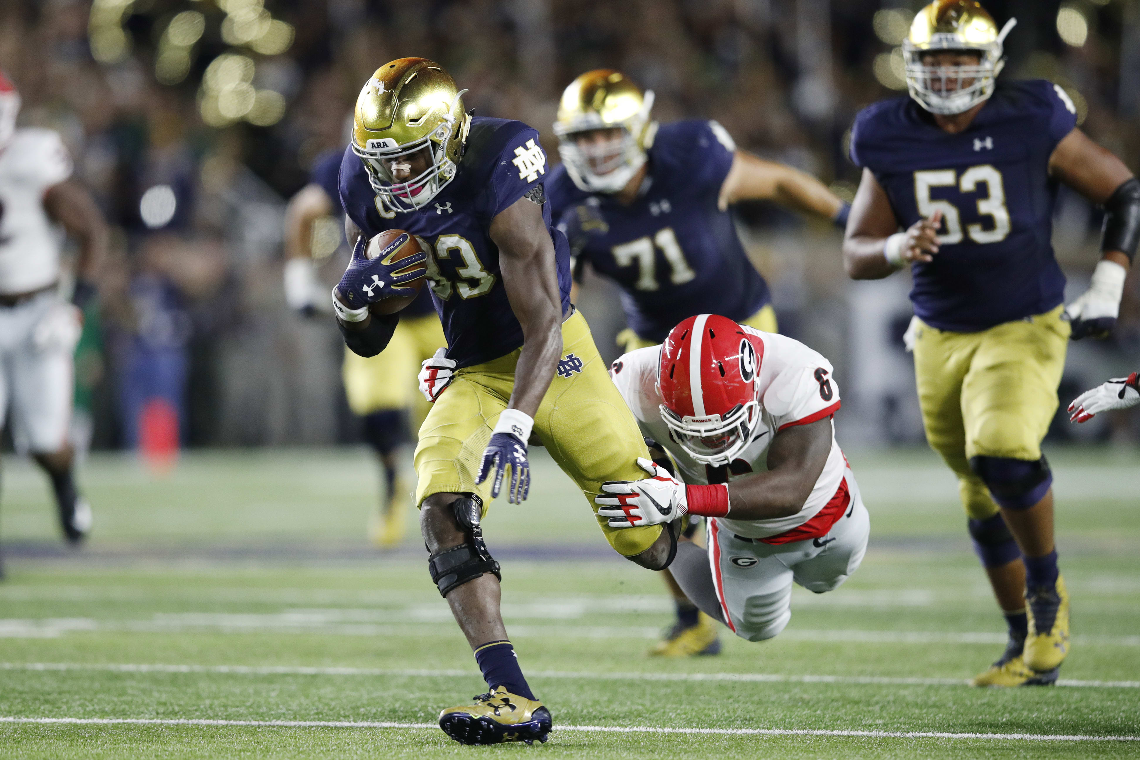 Notre Dame Football Top 5 Running Backs In School History