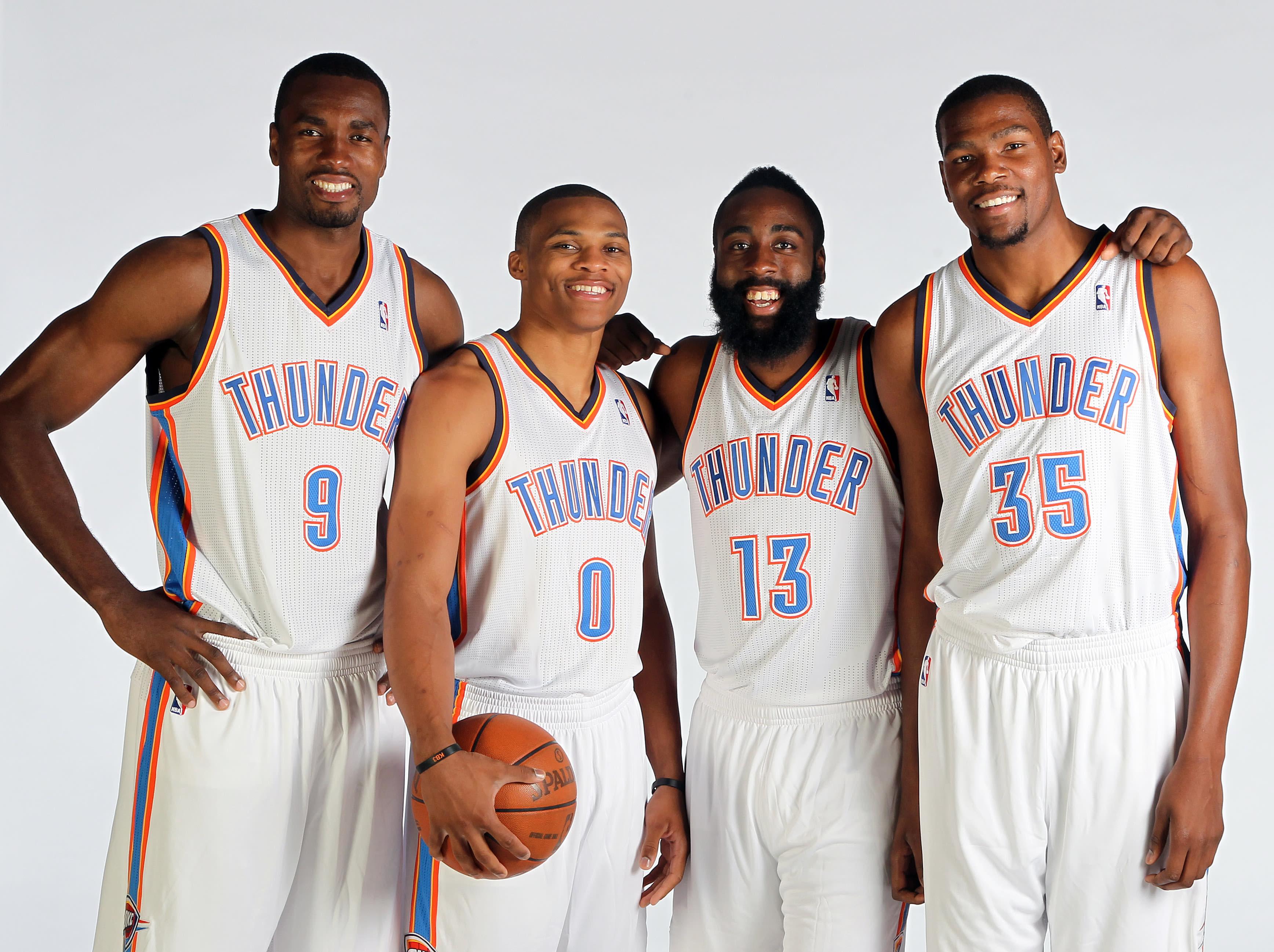 OKC Thunder NBA Draft