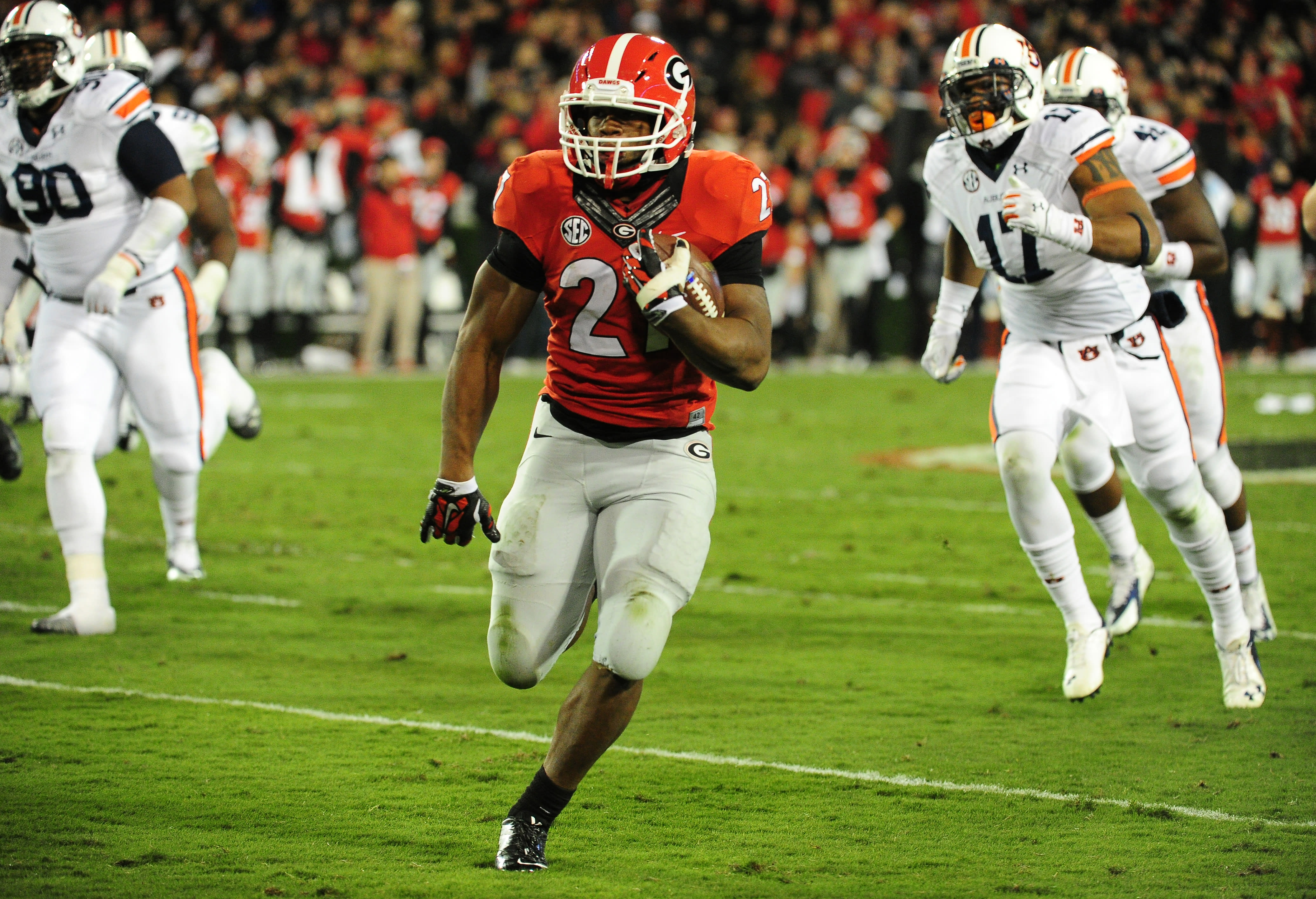 Georgia Football Projected 2 Deep Depth Chart For 2017 Page 6