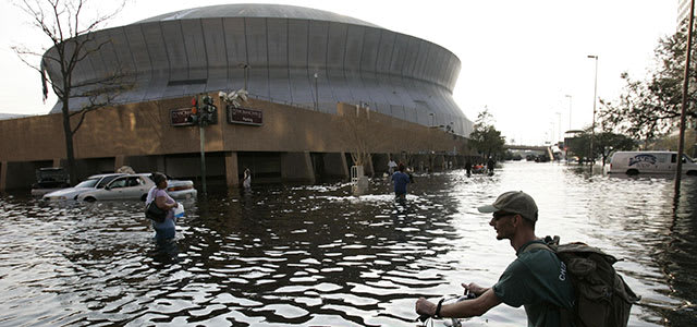 Superdome Hurricane Katrina