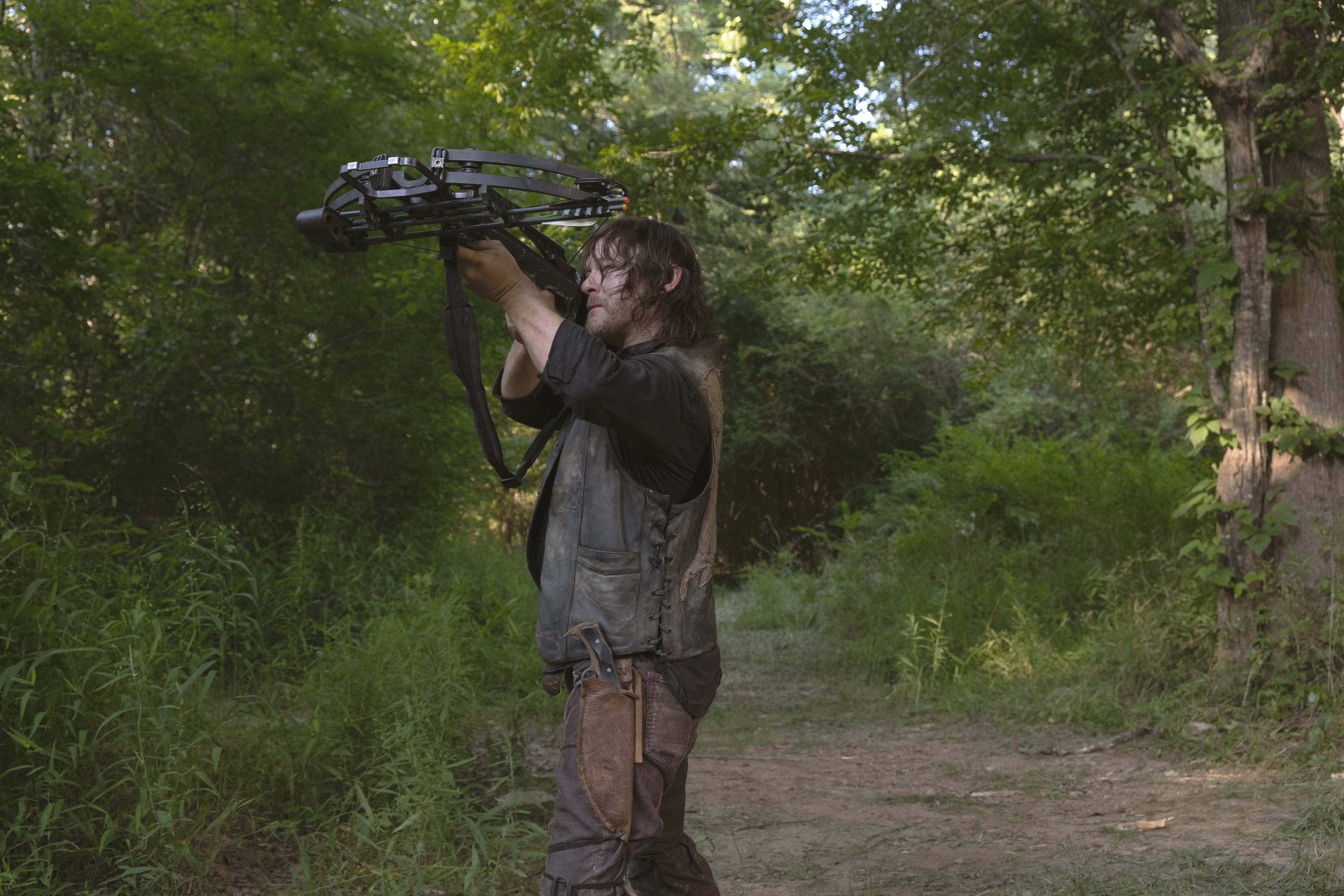 Norman Reedus as Daryl Dixon - The Walking Dead _ Season 9, Episode 5 - Photo Credit: Gene Page/AMC