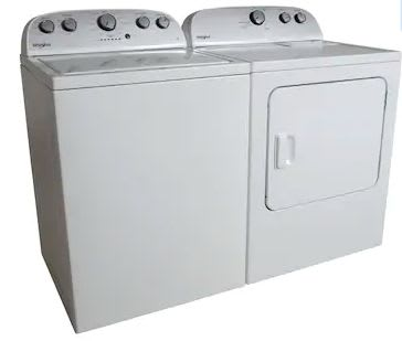 Whirlpool Electric Washer & Dryer