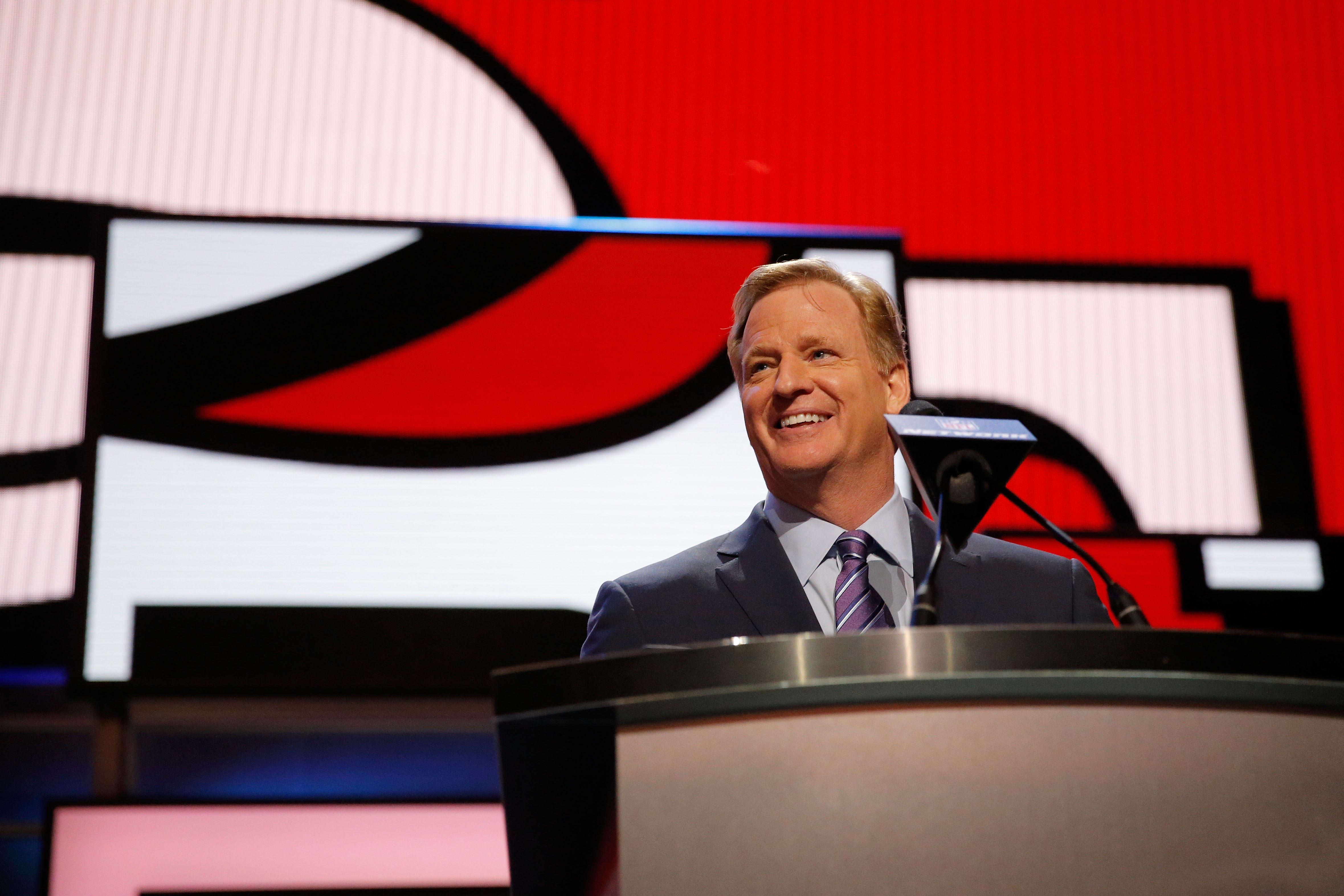 Roger Goodell, NFL Draft, 49ers
