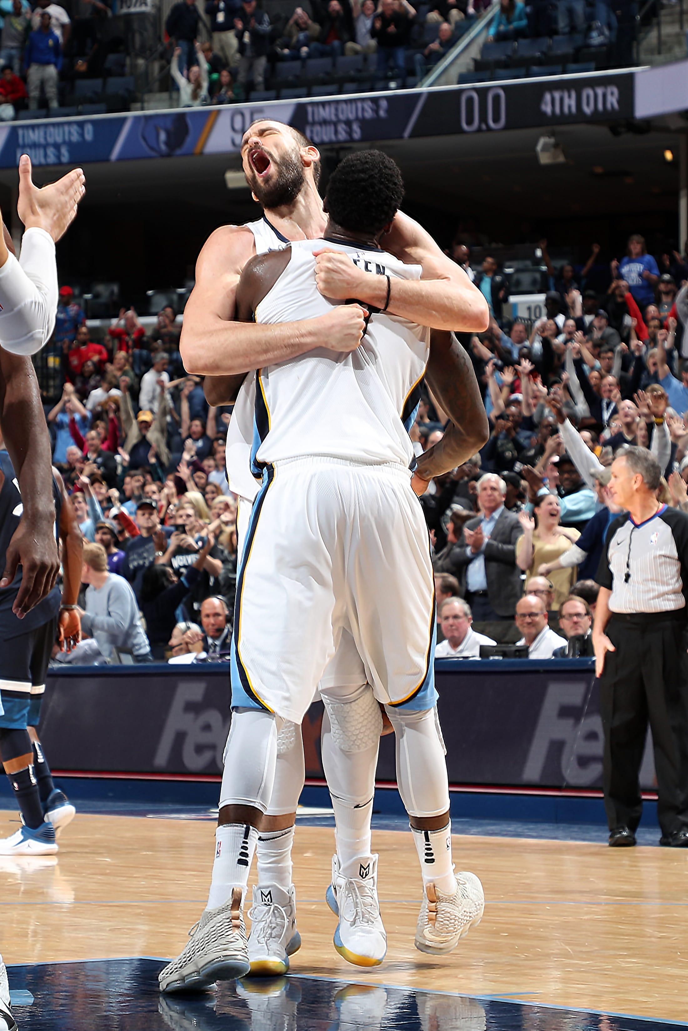 Memphis Grizzlies 2017/2018 Player Reviews: Marc Gasol