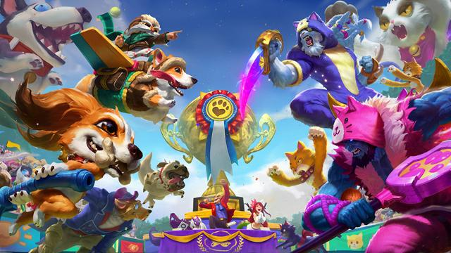 Cats VS Dogs Skins. League of Legends.