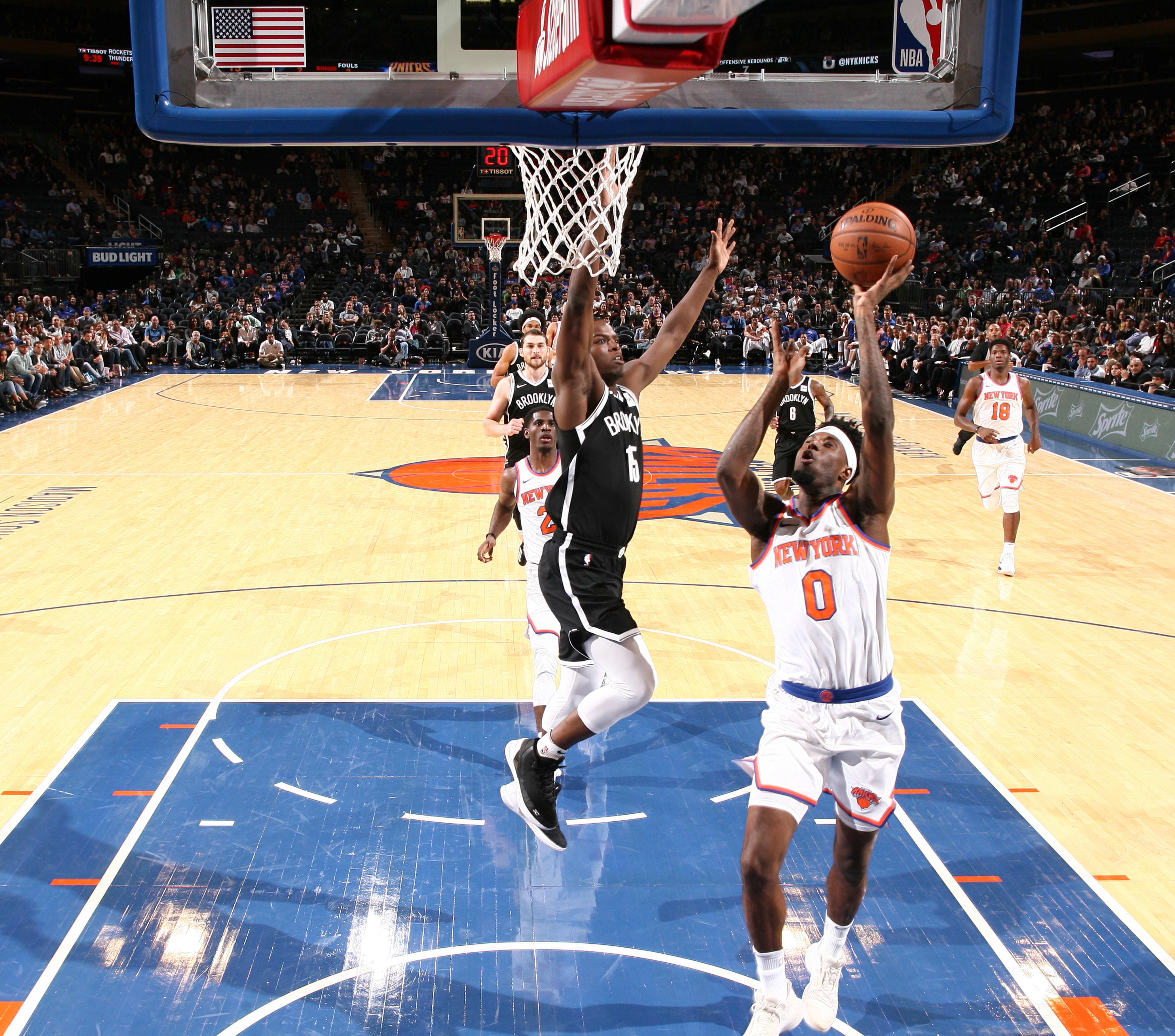 Jamel Artis, New York Knicks, Brooklyn Nets