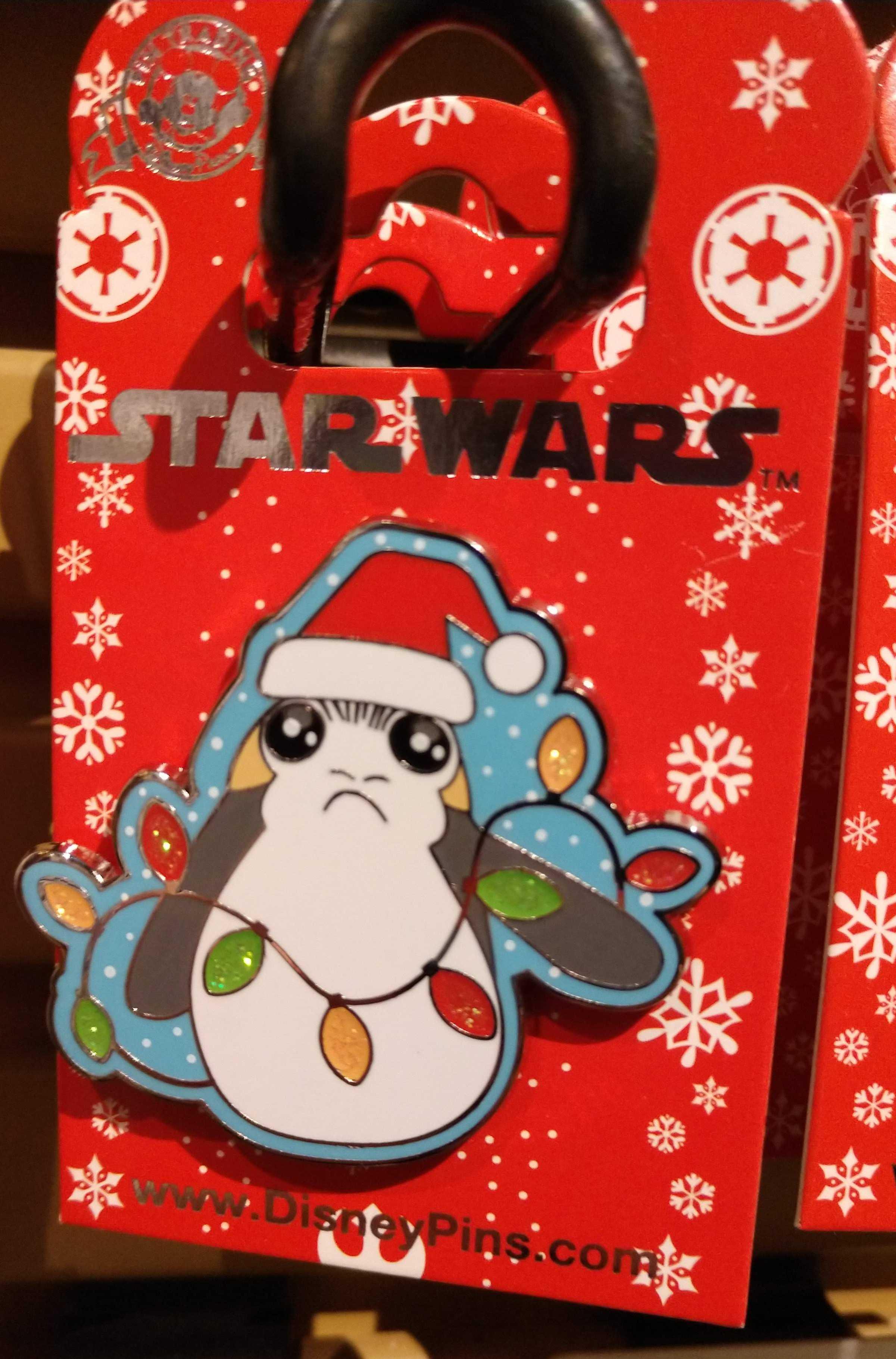 STAR WARS CHRISTMAS HOLIDAY PORG DISNEY TRADING PIN