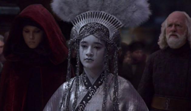 31. Keisha Castle-Hughes as Apailana in Revenge of the Sith.