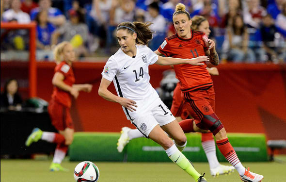 Morgan Brian is set to become the new face of USWNT.