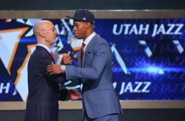 Utah Jazz NBA Draft Rodney Hood Adam Silver