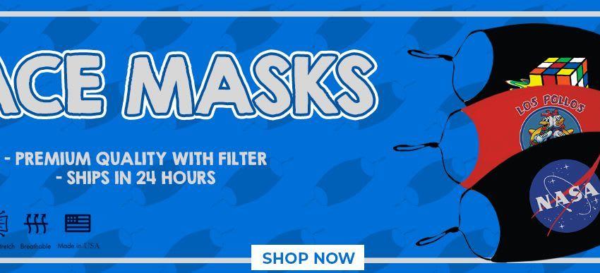 TV Store Online Face Masks